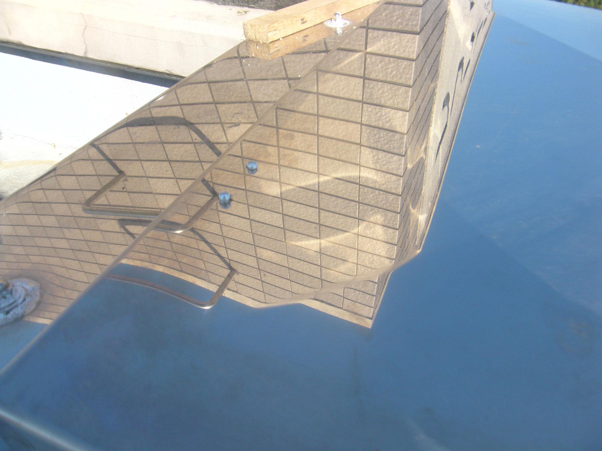 屋上ハッチ不具合補修:工程写真