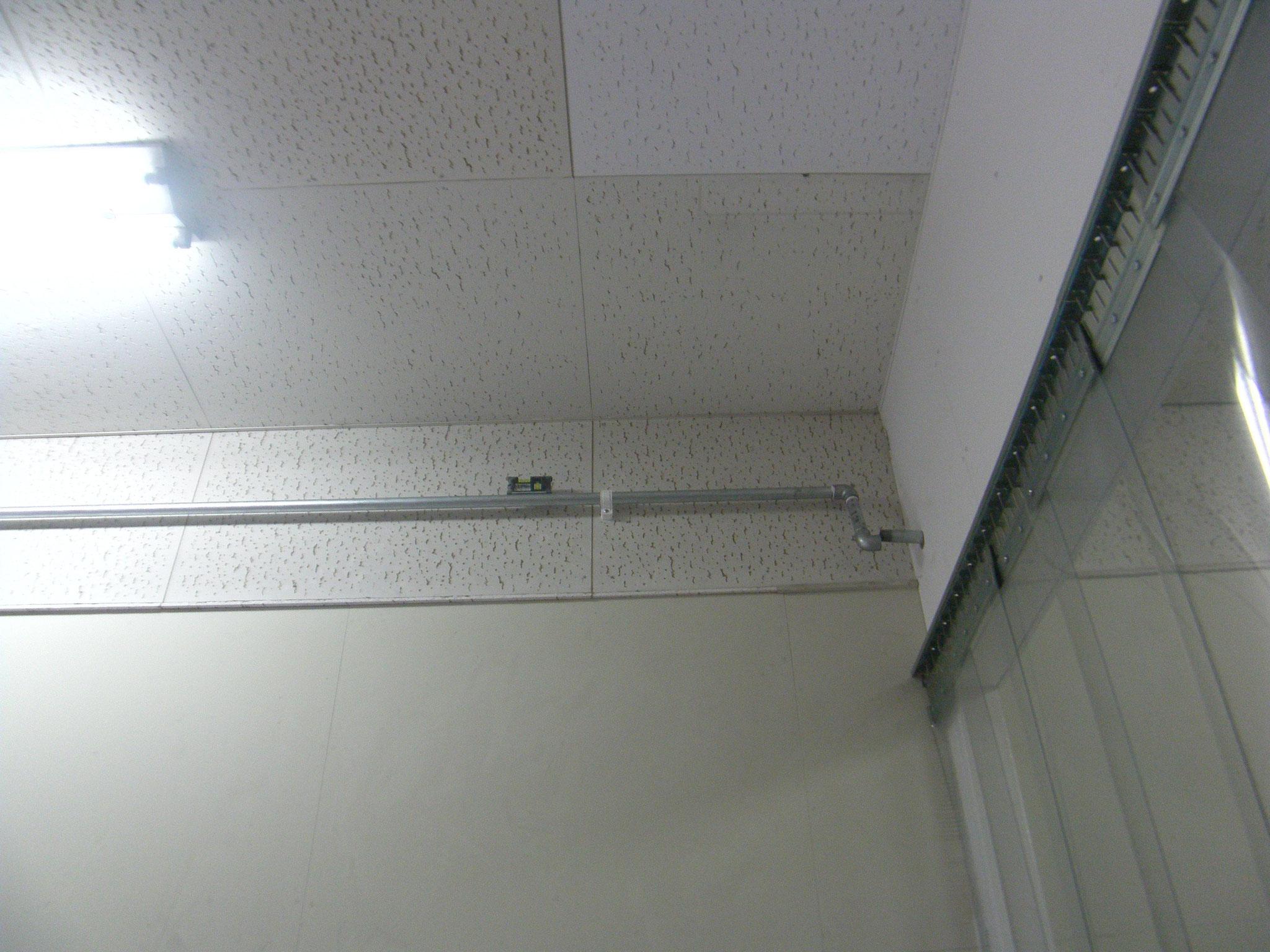 エアー配管増設工事:工程写真