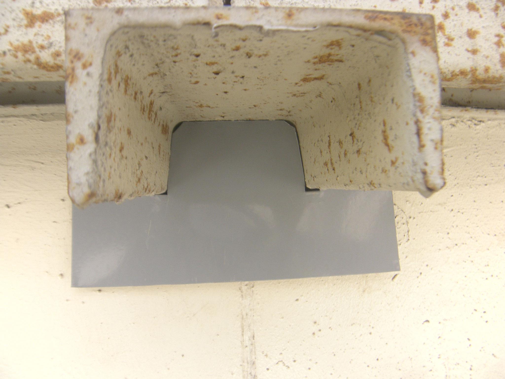 雀侵入防止対策工事:工程写真