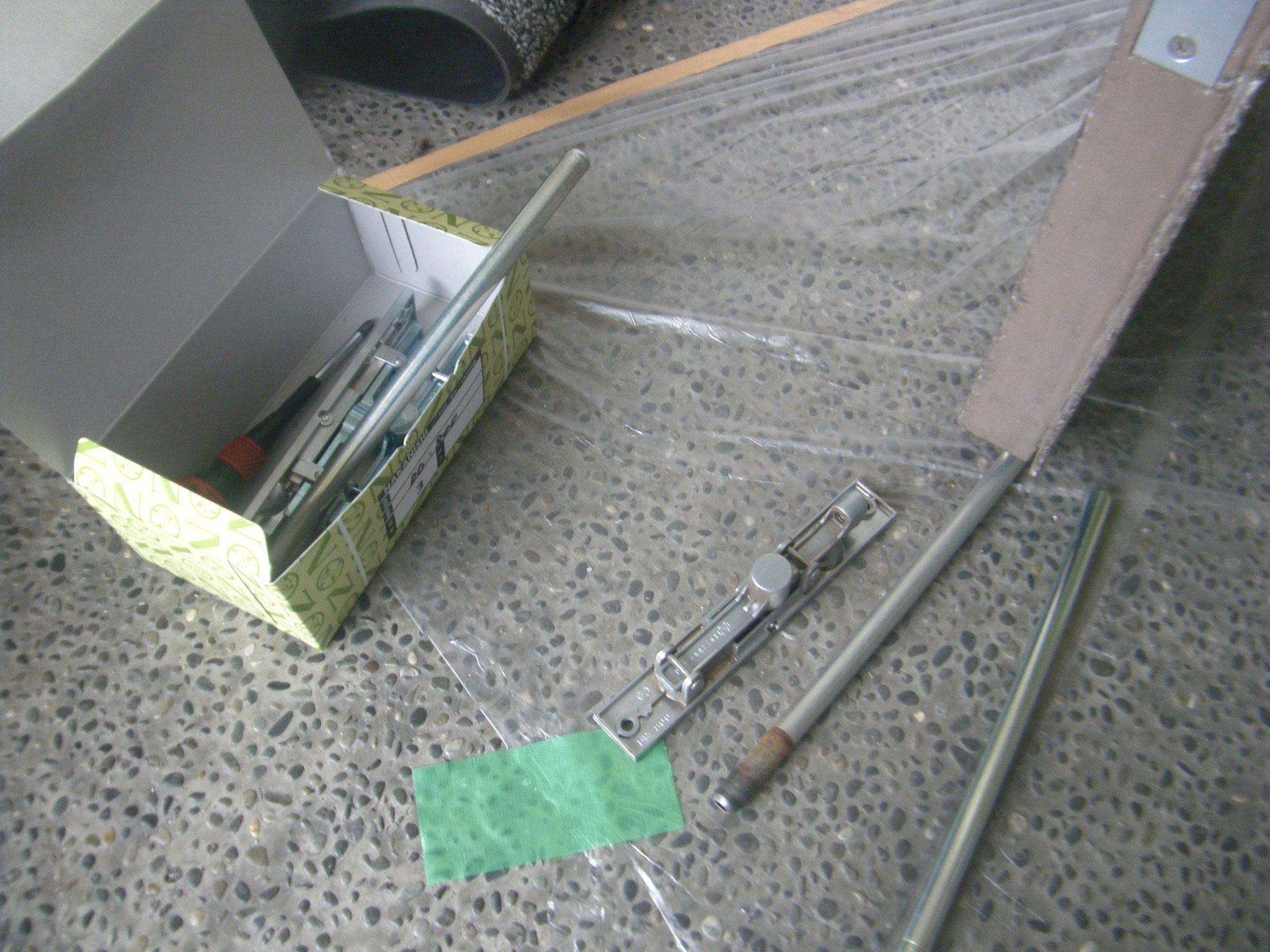 建具金物取替工事:工程写真
