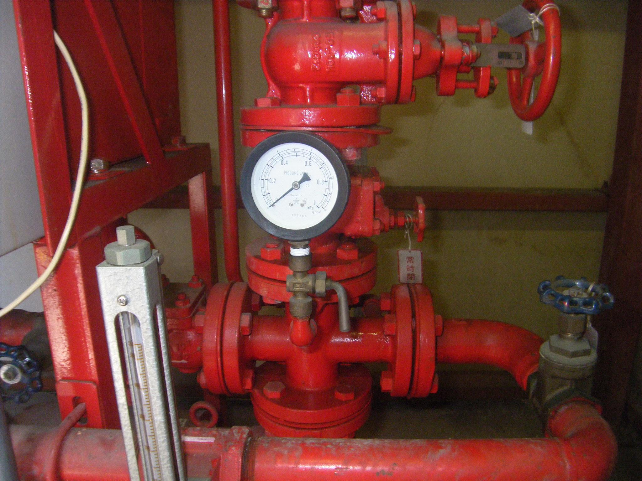 消防ポンプ修理作業:工程写真