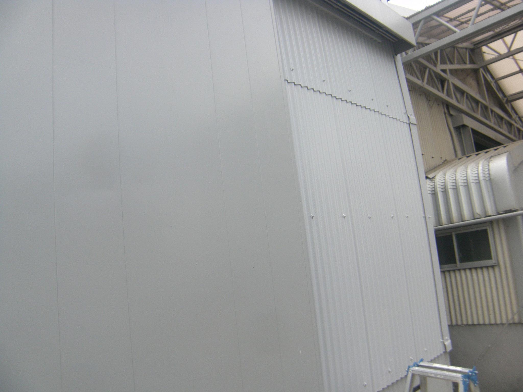 スレート工場塗装工事:工程写真