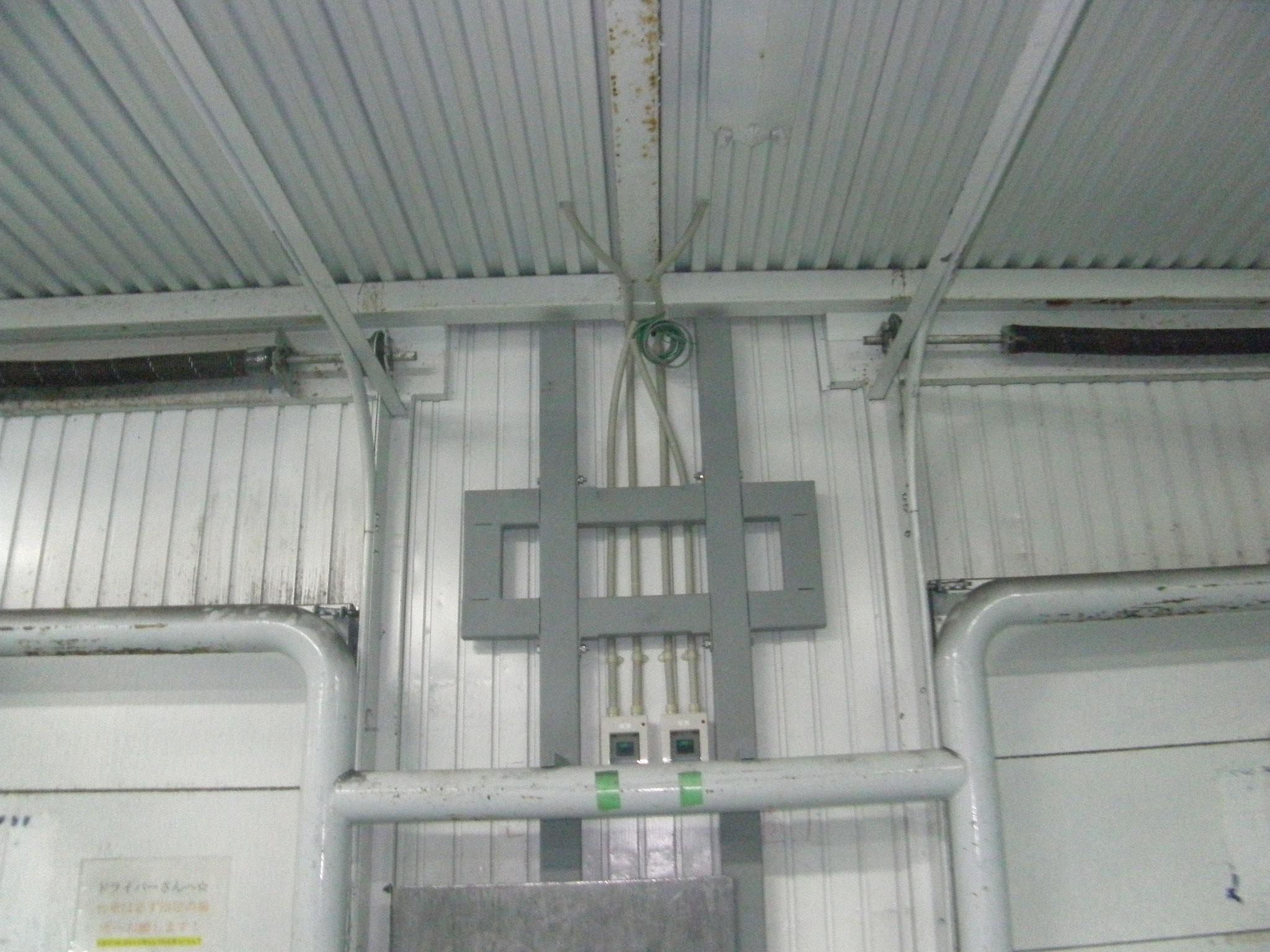 電動オペレーター鉄骨工事:工程写真