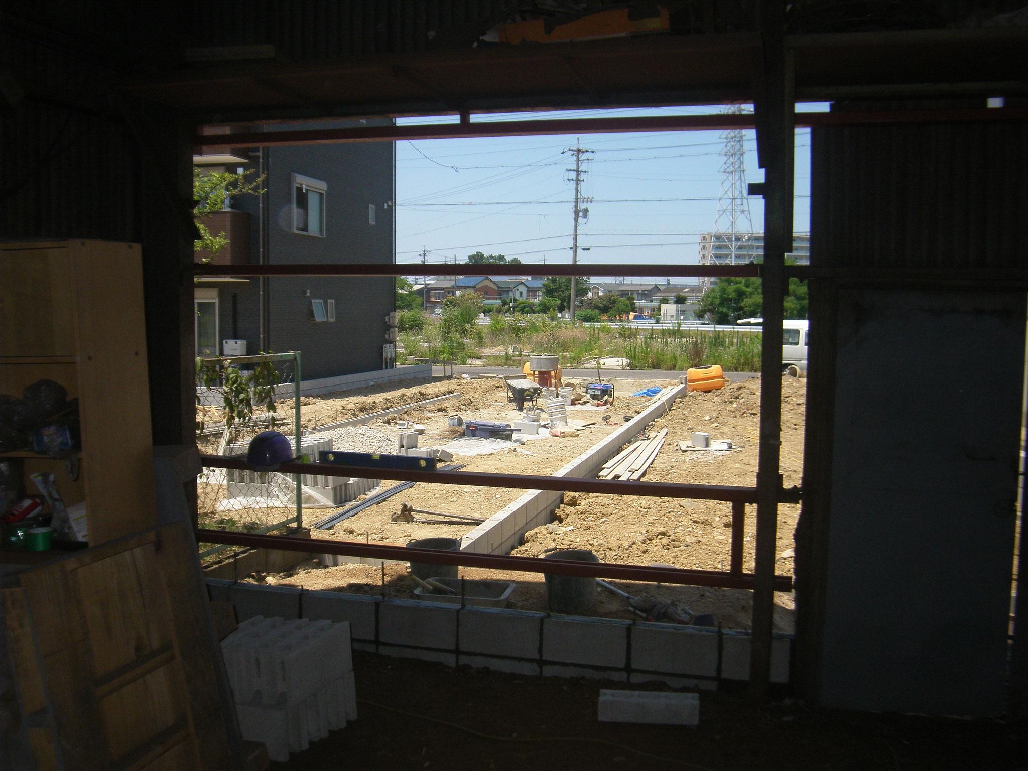 スレ-ト工場改修工事:工程写真