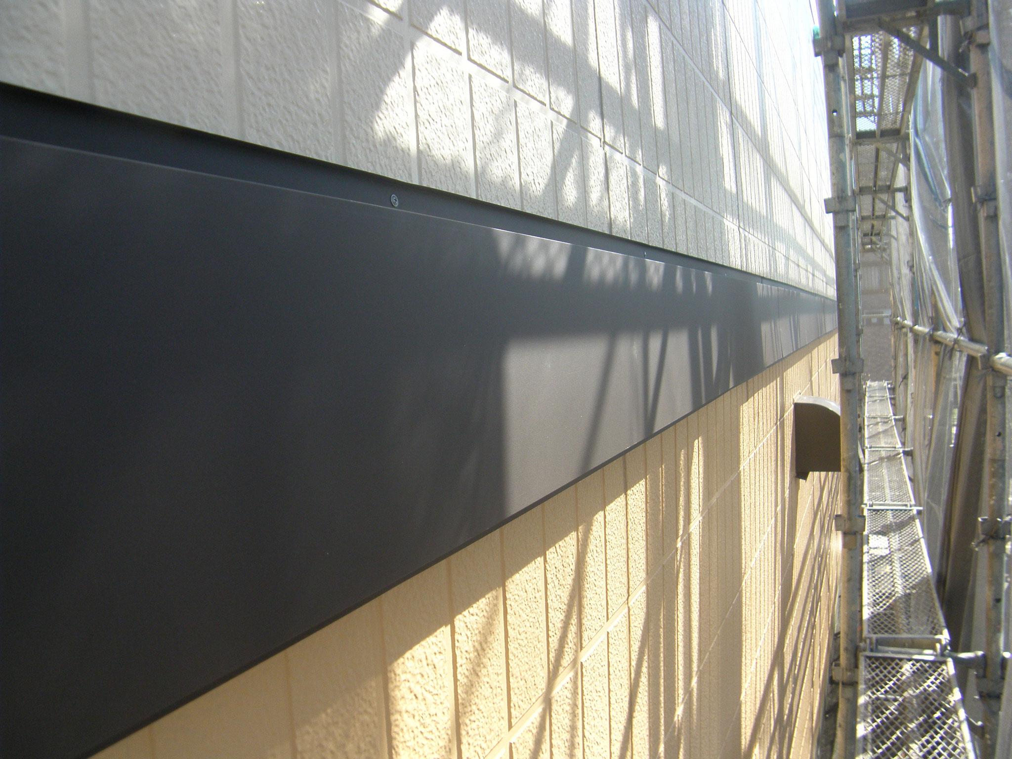 幕板・破風板改修工事:工程写真