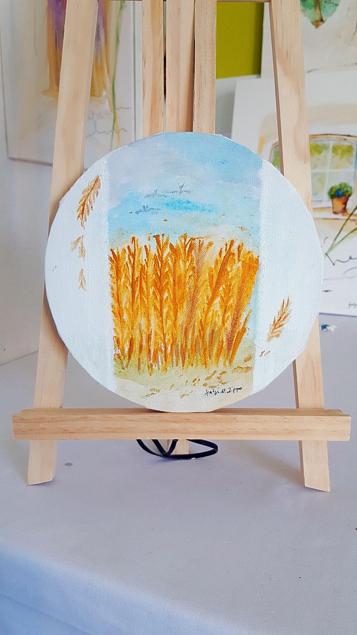 Getreide Maße Durchmesser 9x9x1,5cm