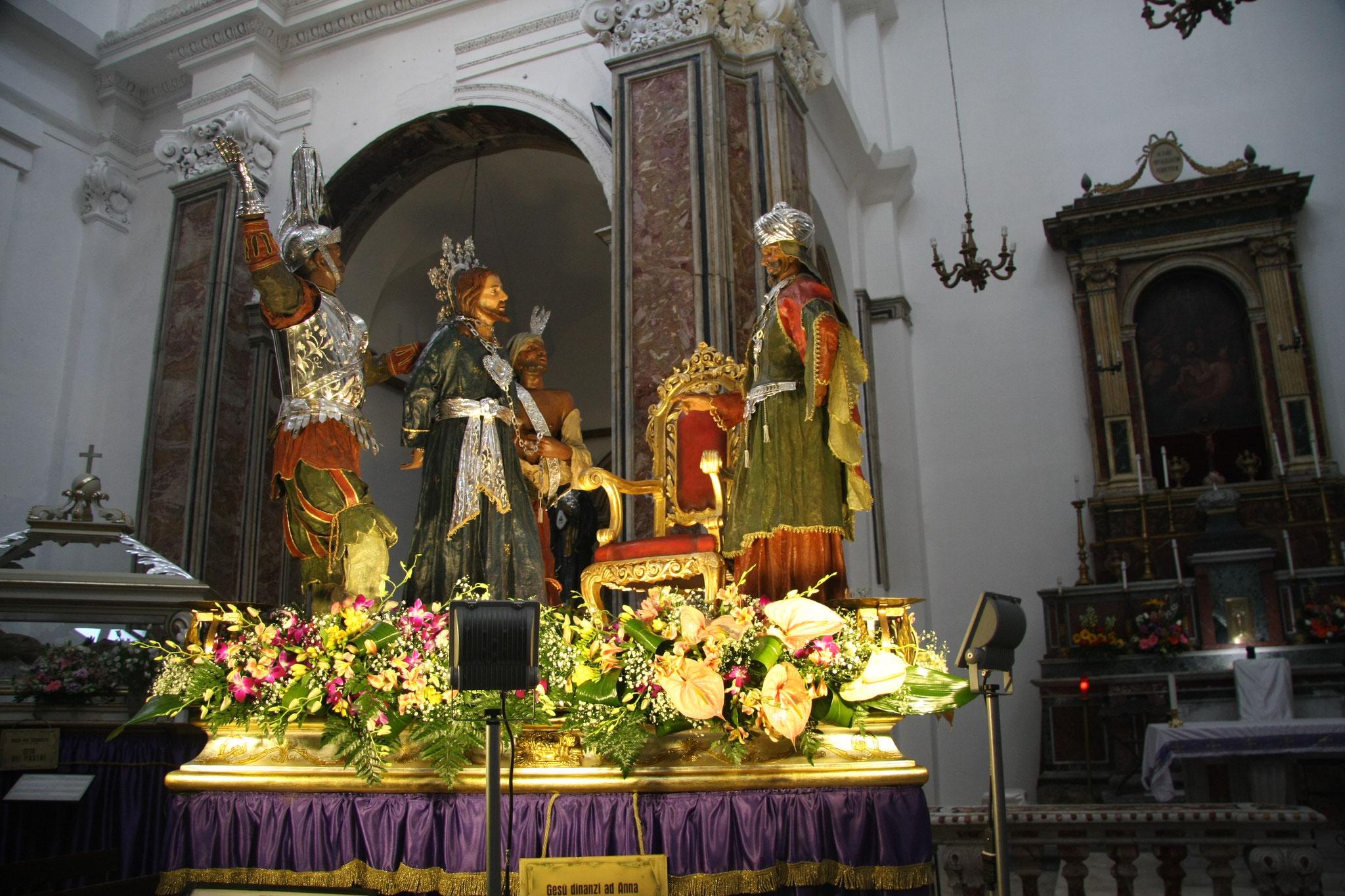 Gesù Dinanzi ad Hannan - Ceto Fruttivendoli