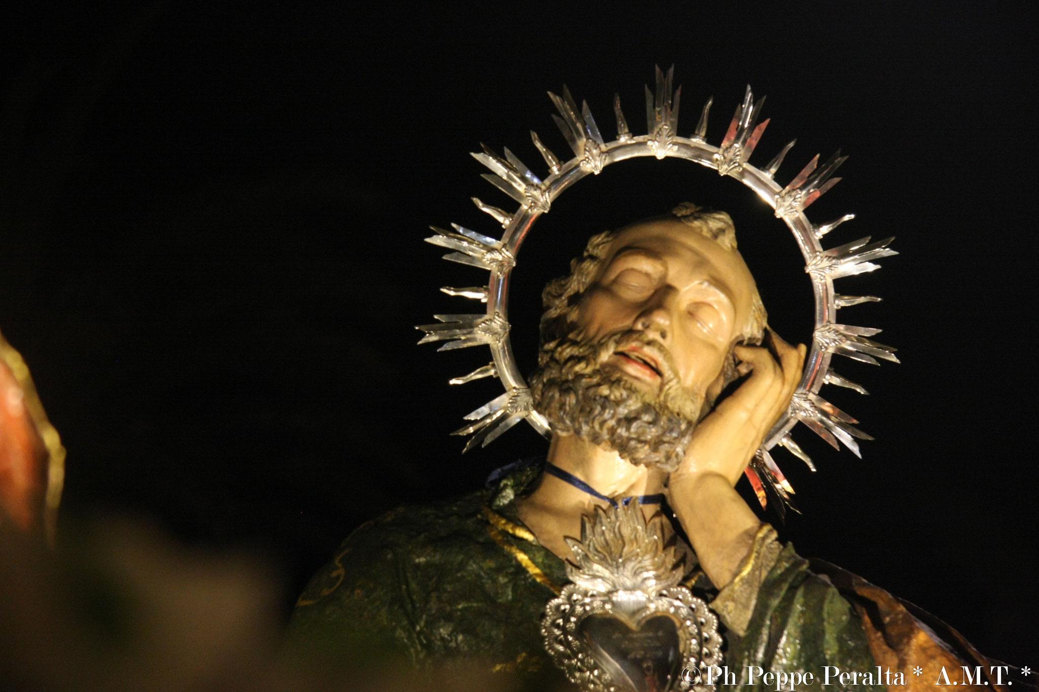 Uno degli Apostoli caduti nel sonno
