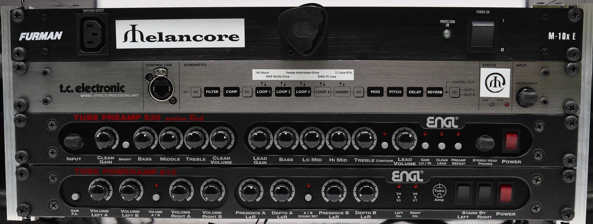 ENGL e530 & e810 Live Rack
