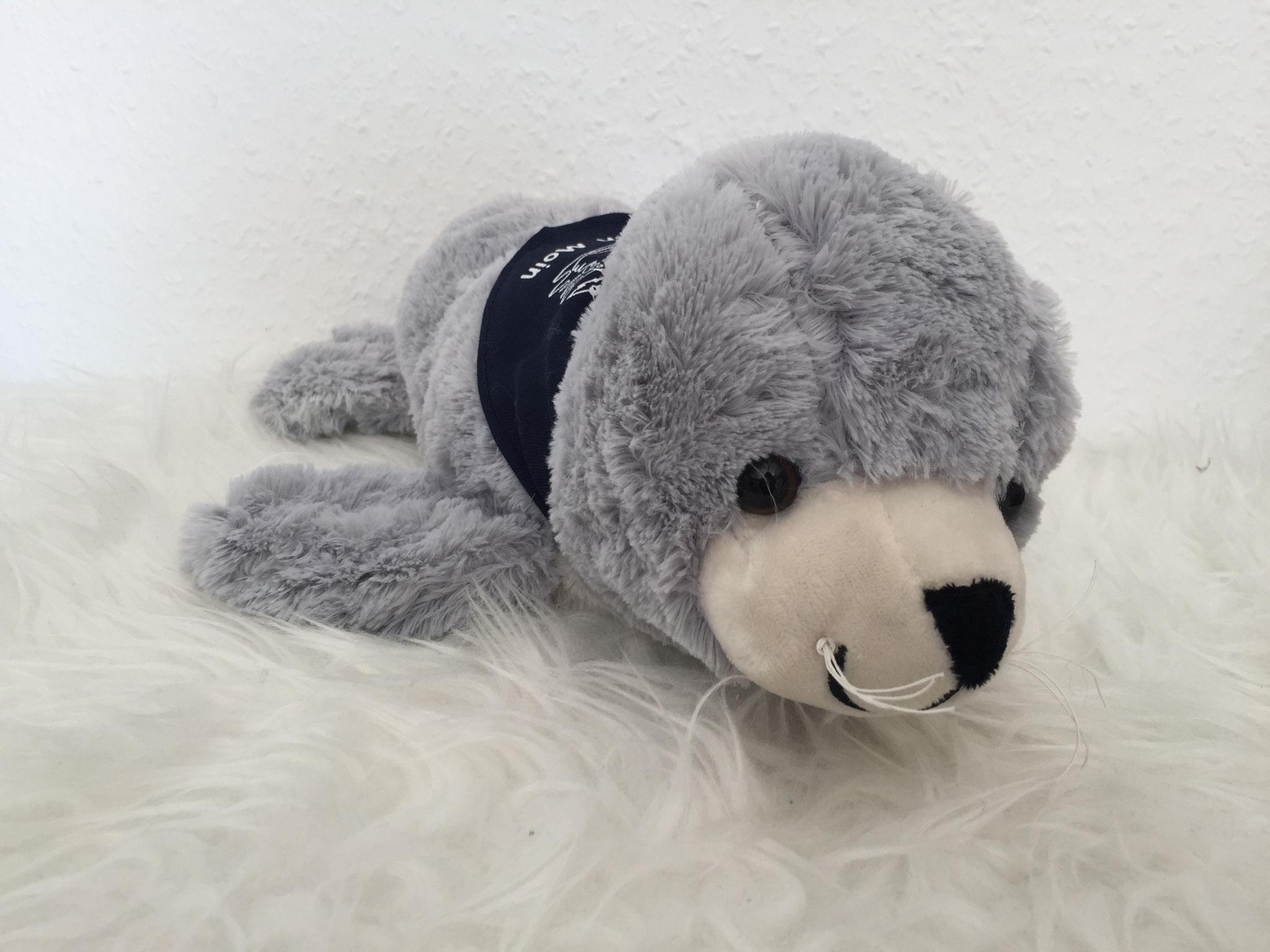 Klasse 1a - Klassenlehrerin Frau Reploh – Klassentier Piet, der Seehund