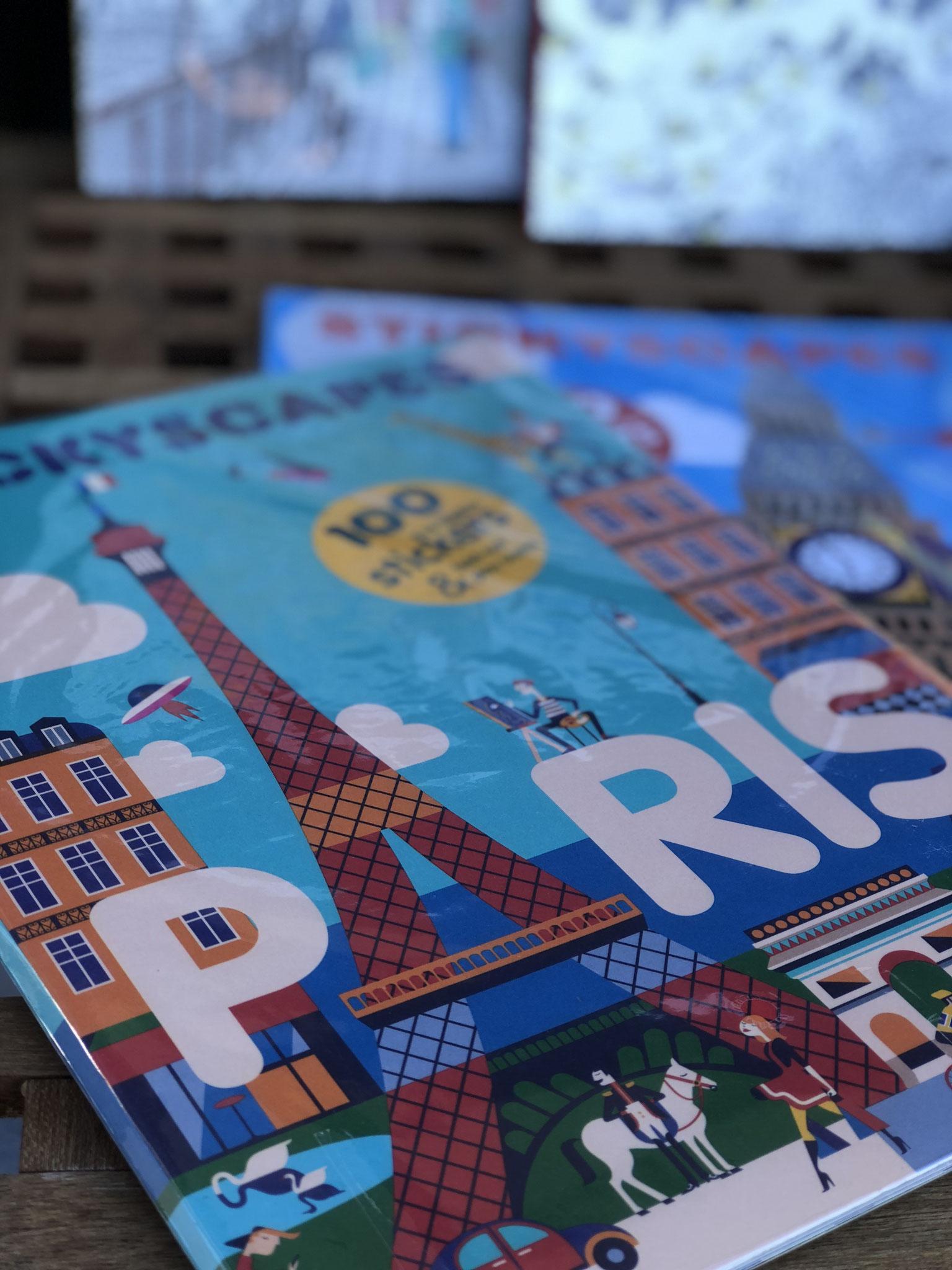 表紙がかわいいパリとロンドン