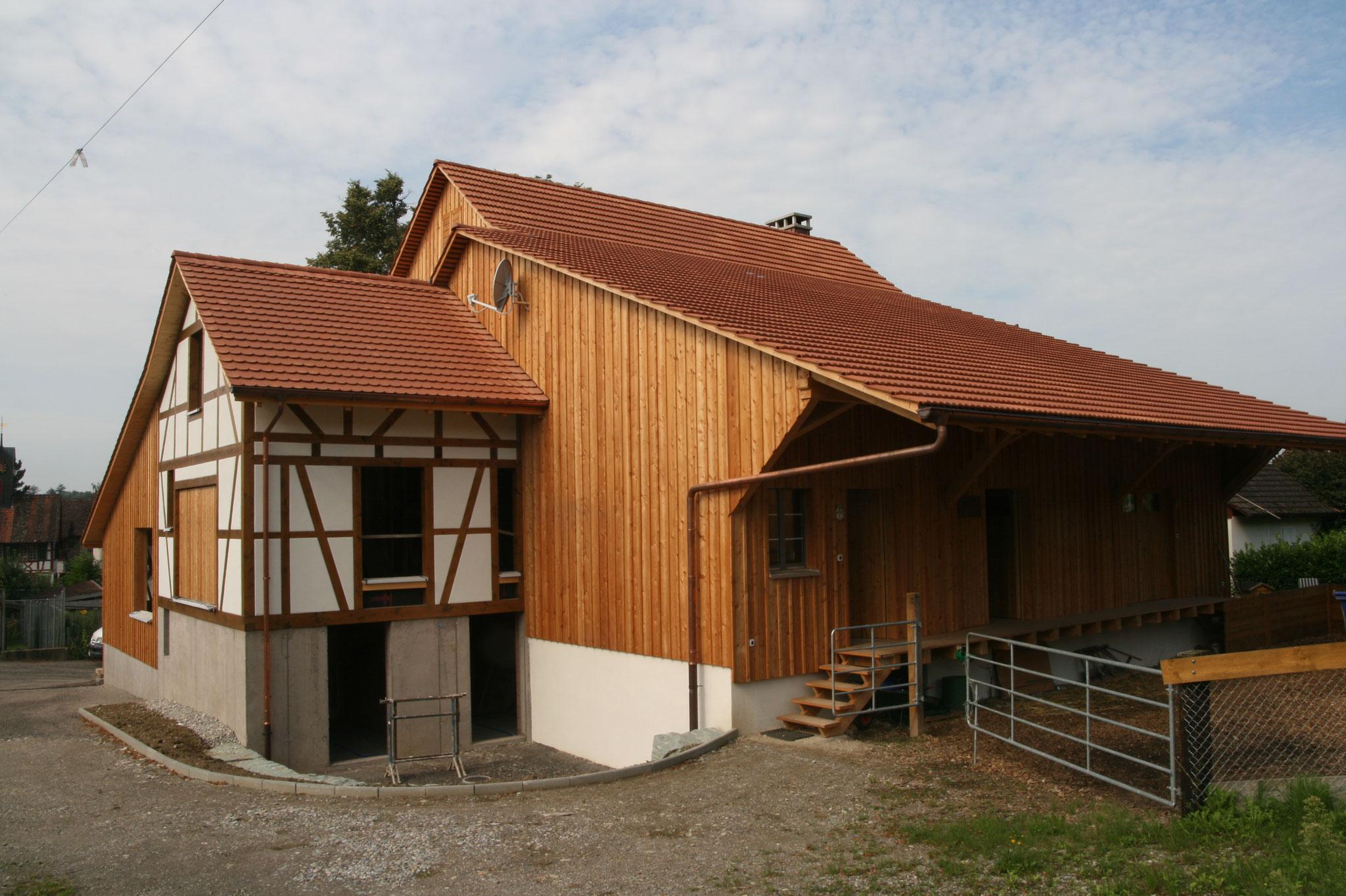 Umbau Wohnhaus / Ökonomieteil, 8465 Rudolfingen/ZH