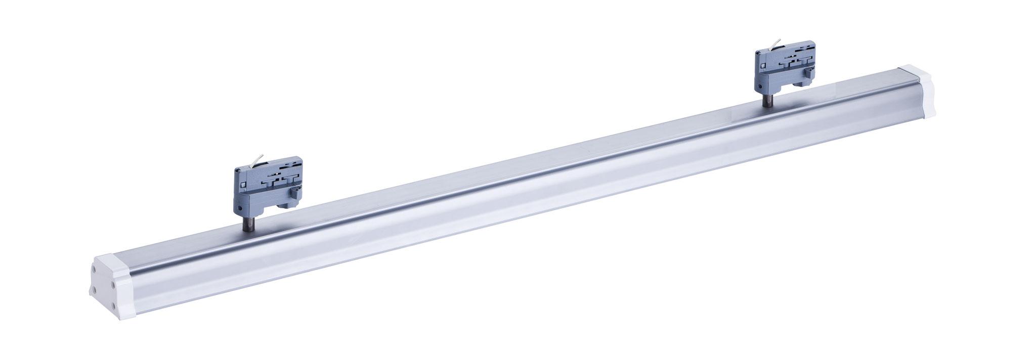 Lichtleiste mit 3-Phasen Adapter * 40 Watt * 120 cm * Ausstrahlwinkel 100° * 4.000 lm