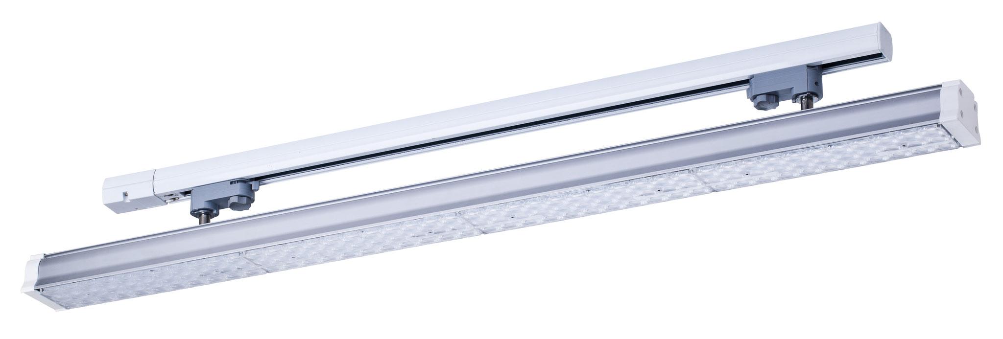 LED Lichtleiste mit 3-Phasen Adapter * 40 Watt * 100 cm * Ausstrahlwinkel 100° * 4.000 lm * Details im Shop
