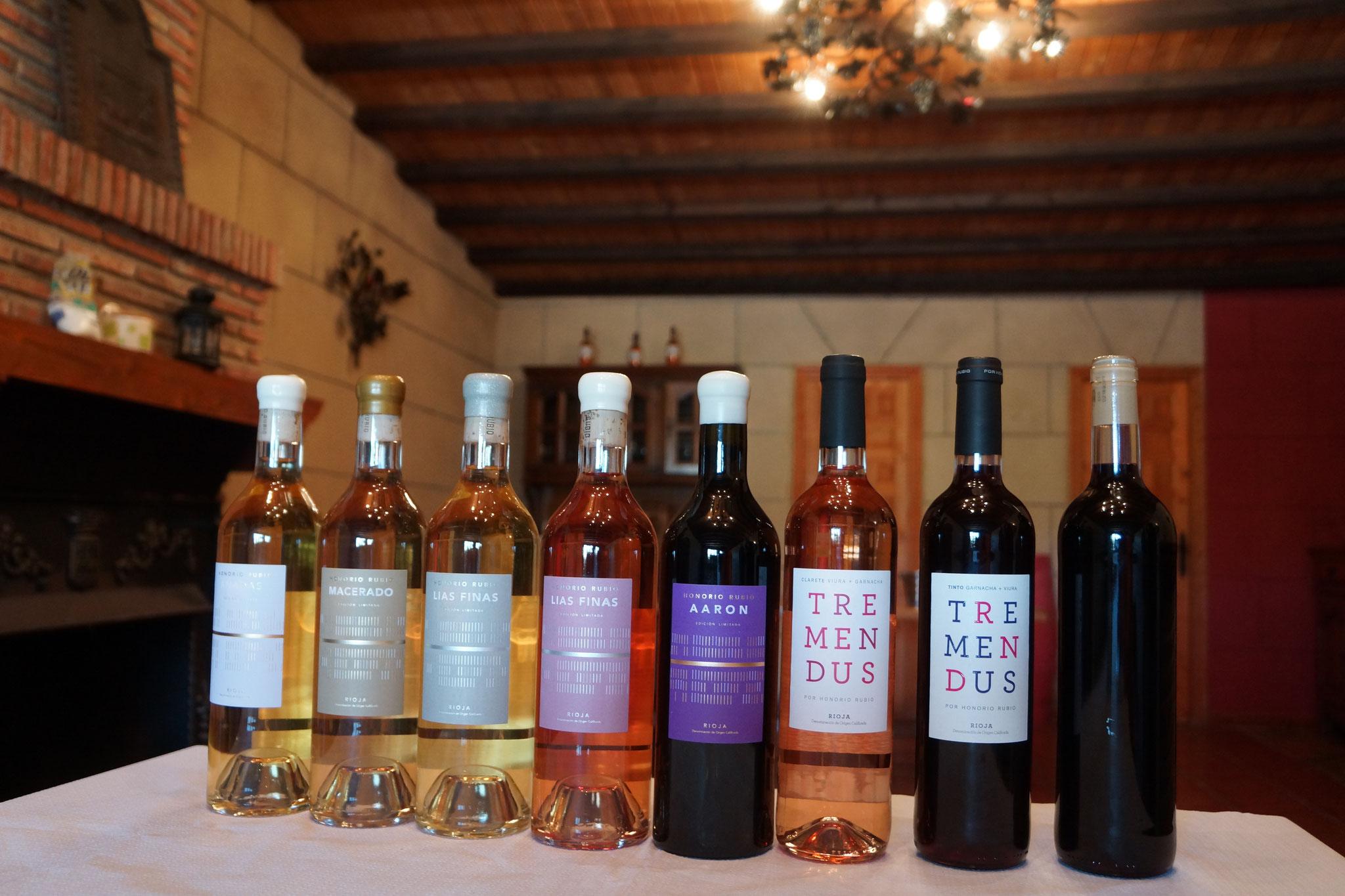 オノリオのワイン全種