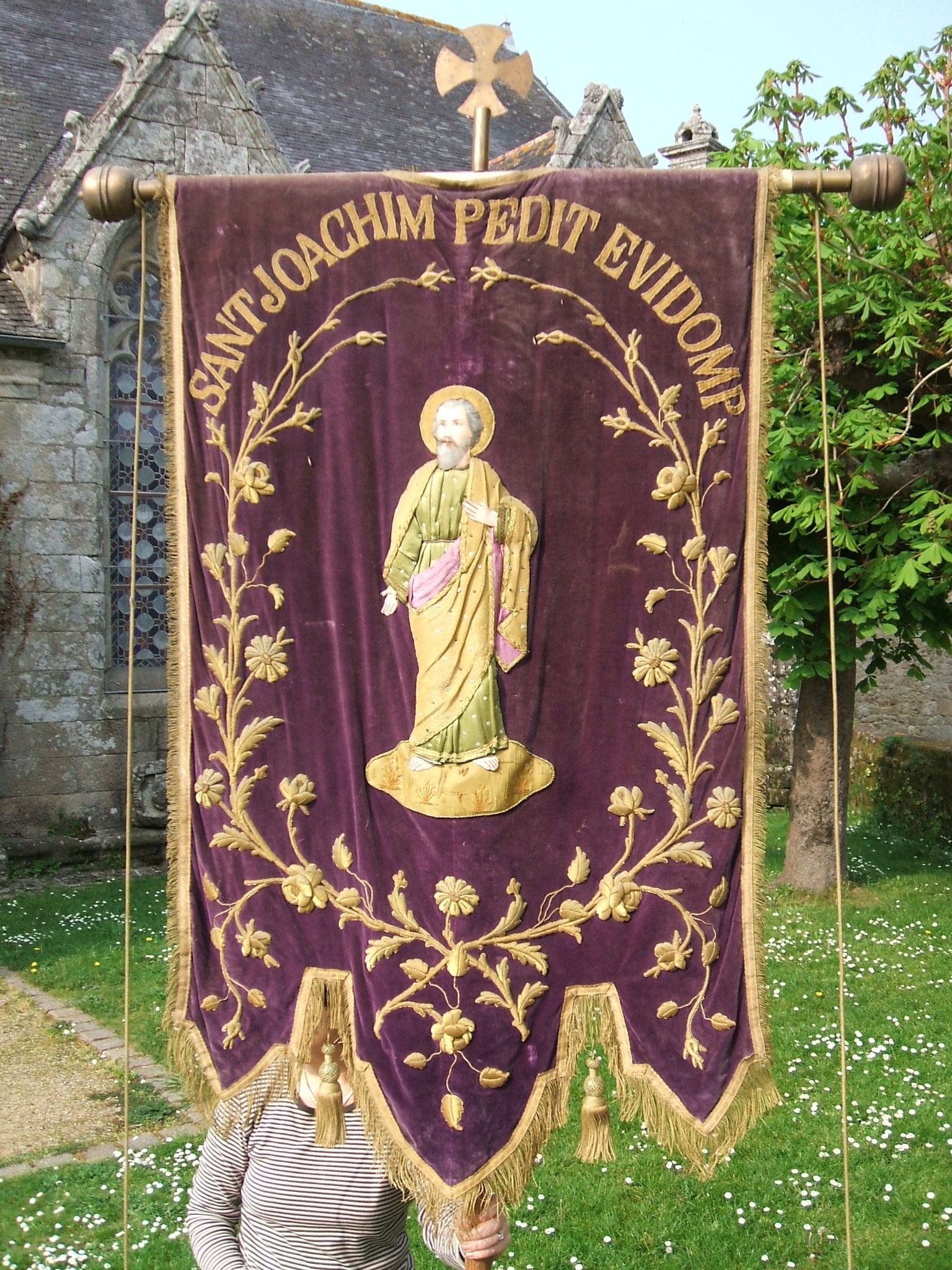 Bannière saint Joachim.