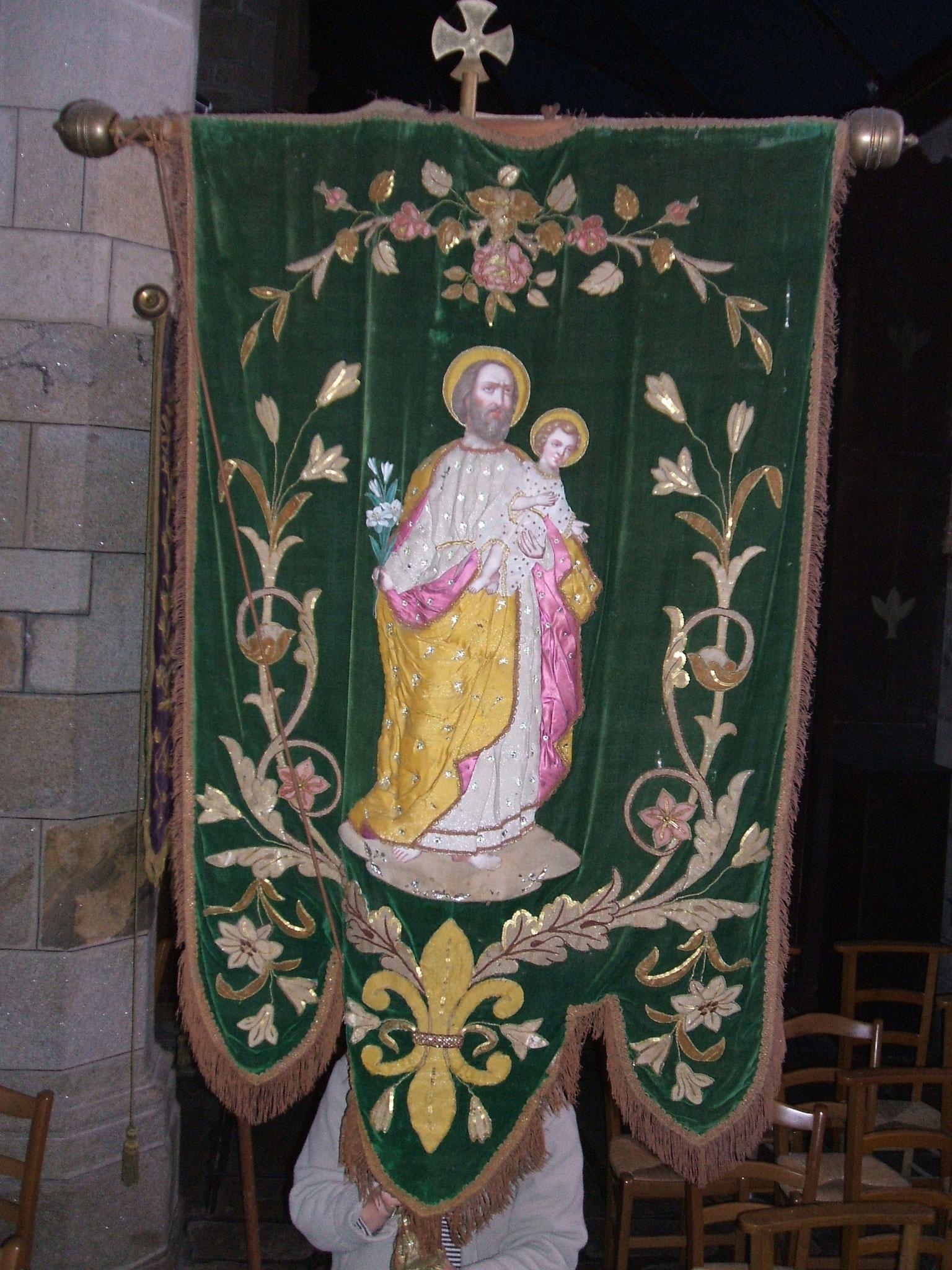 Bannière saint Joseph.