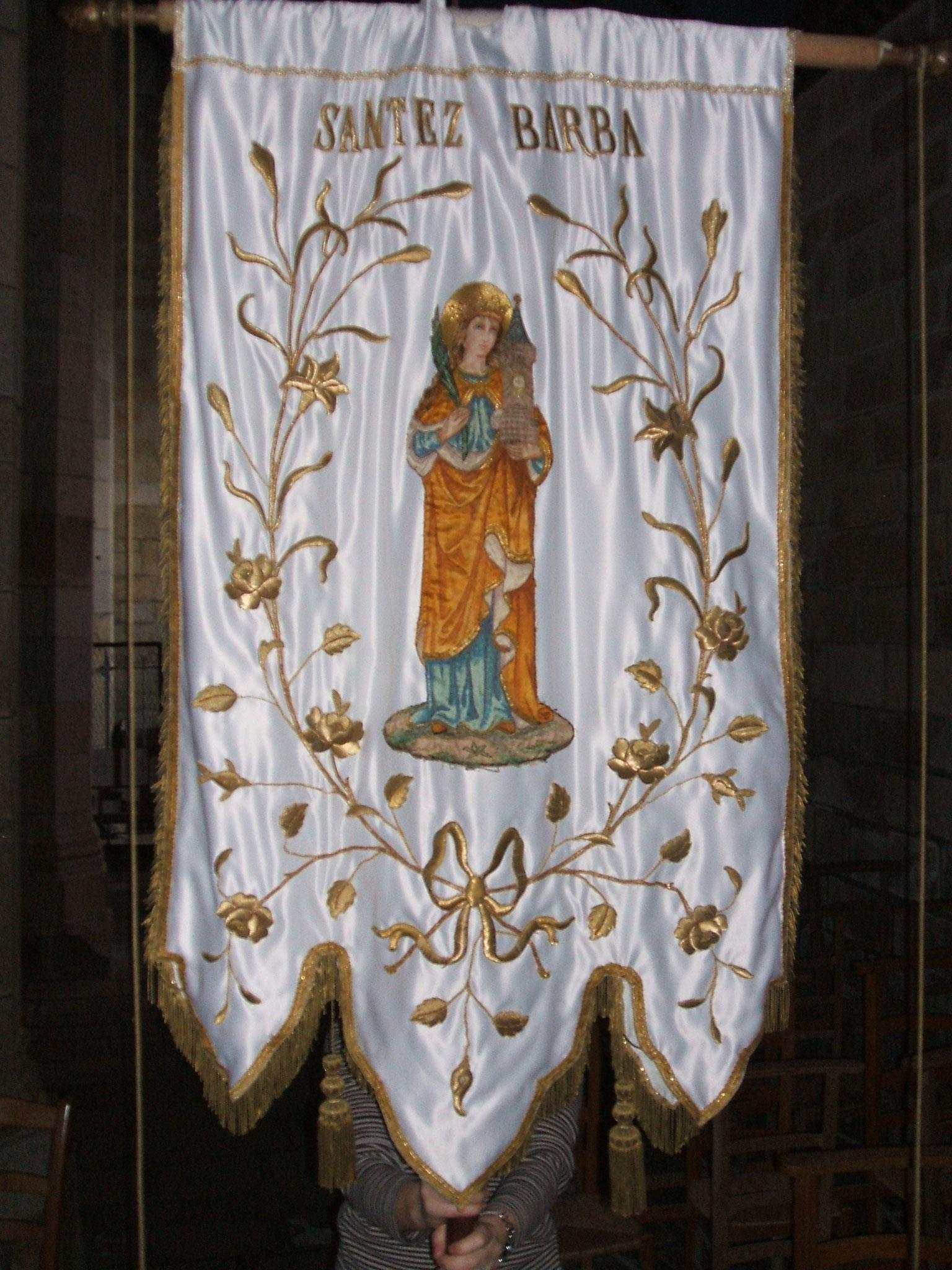 Bannière sainte Barbe, 1919.