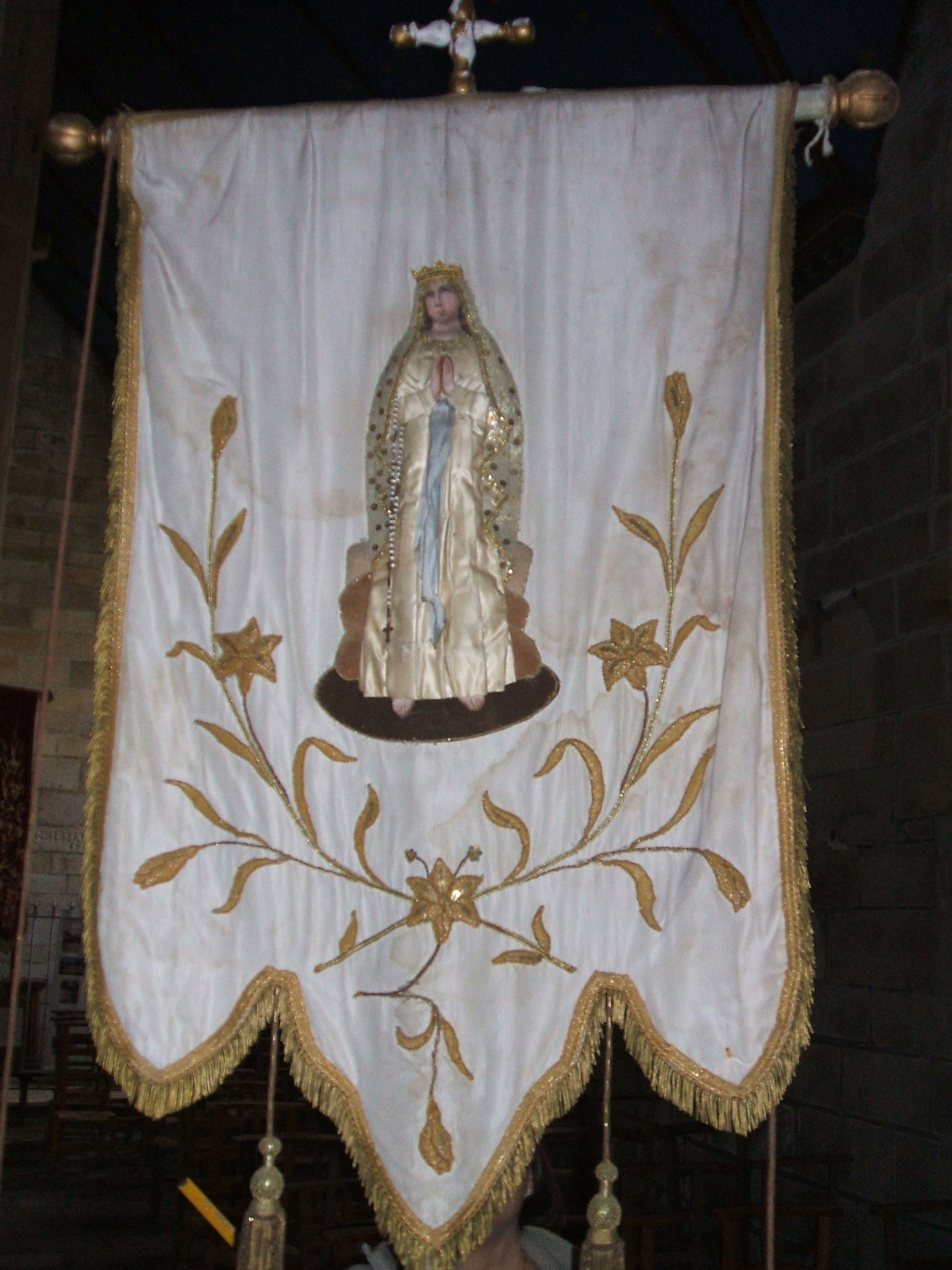 Bannière des Jeunes, Vierge.