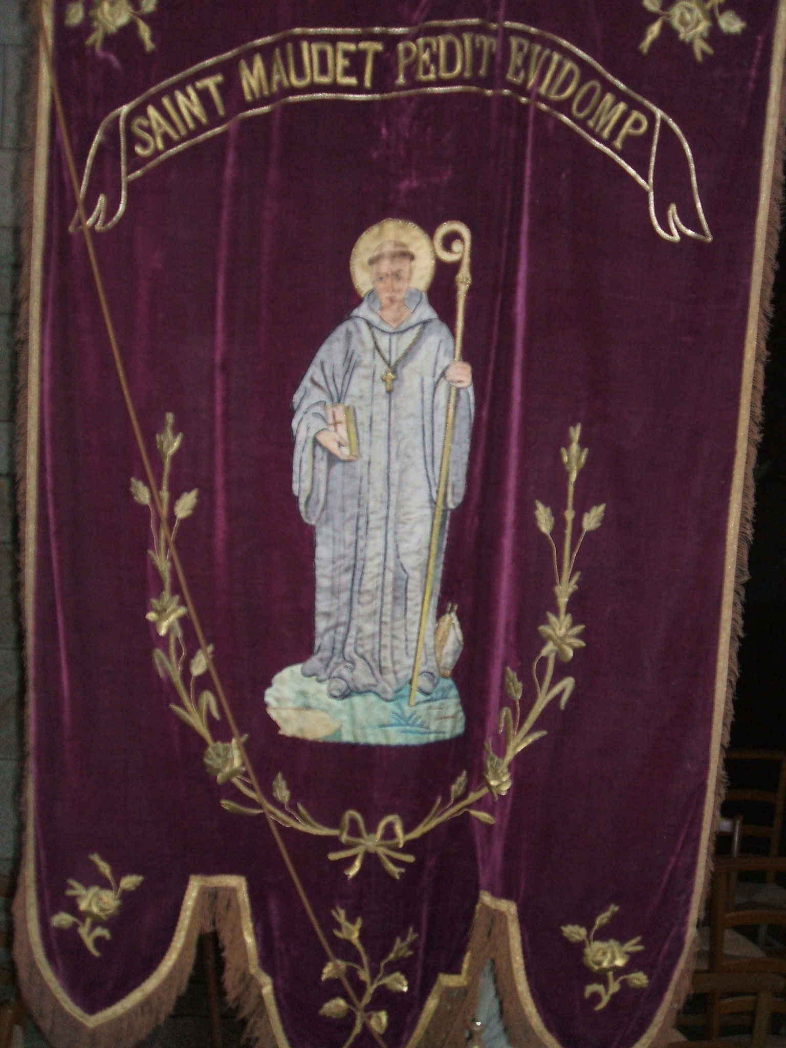 Bannière saint Maudet.