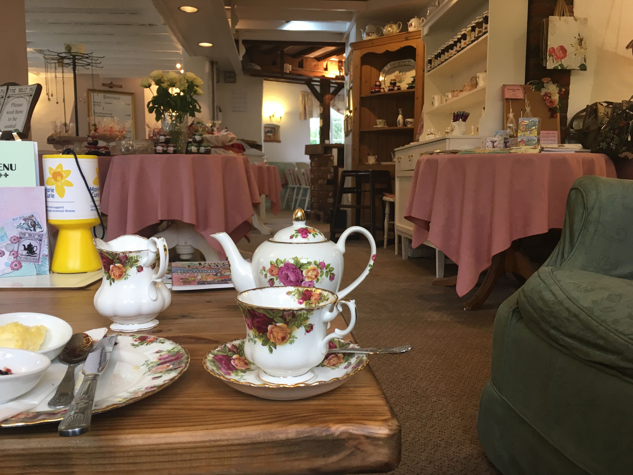 2018 Cream Tea in England :-)