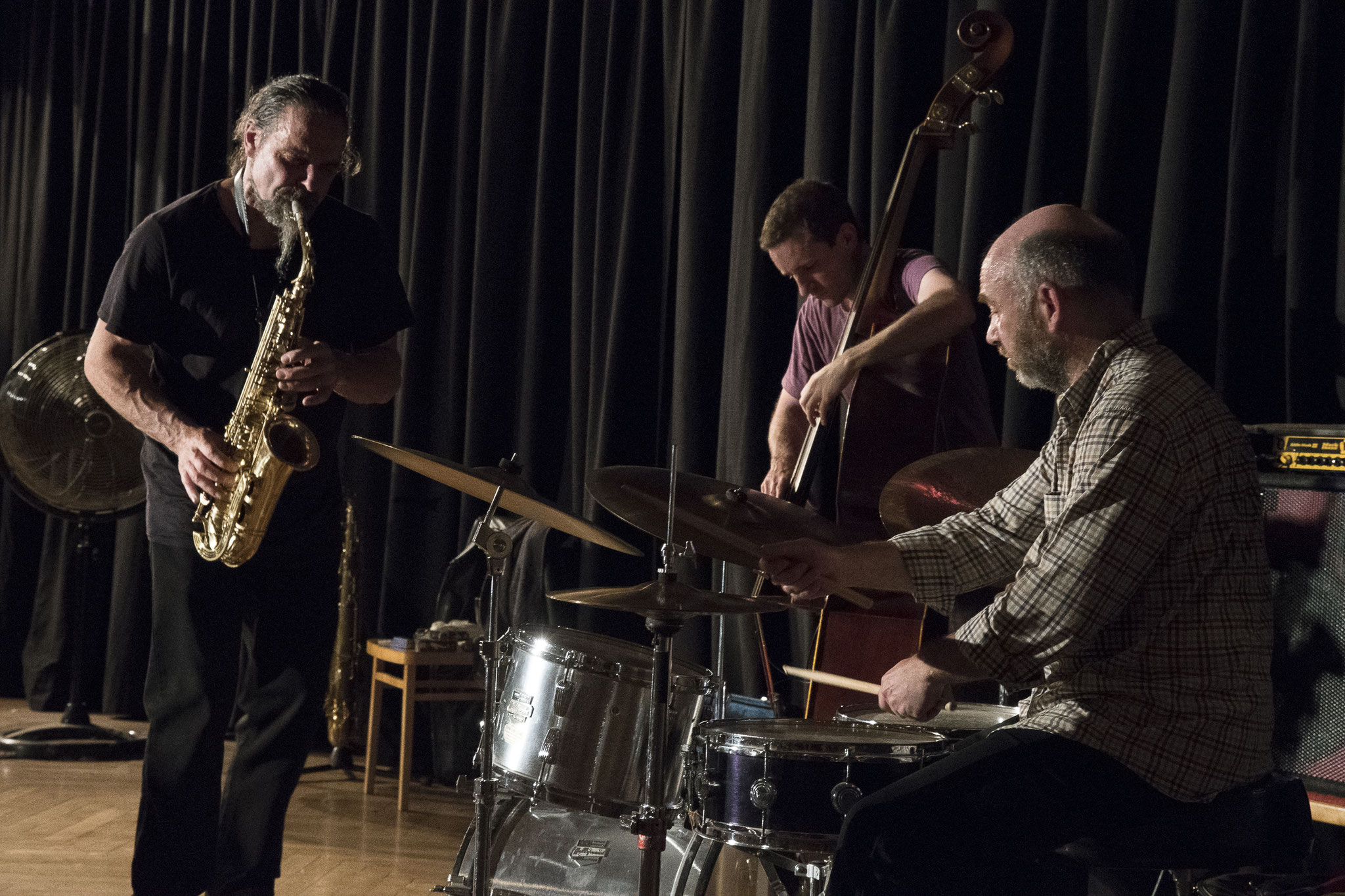 """Hiby/Bardon/Hession    Wuppertal """"Cafe Ada"""" 11.06.2017   © Antje Zeis-Loi"""