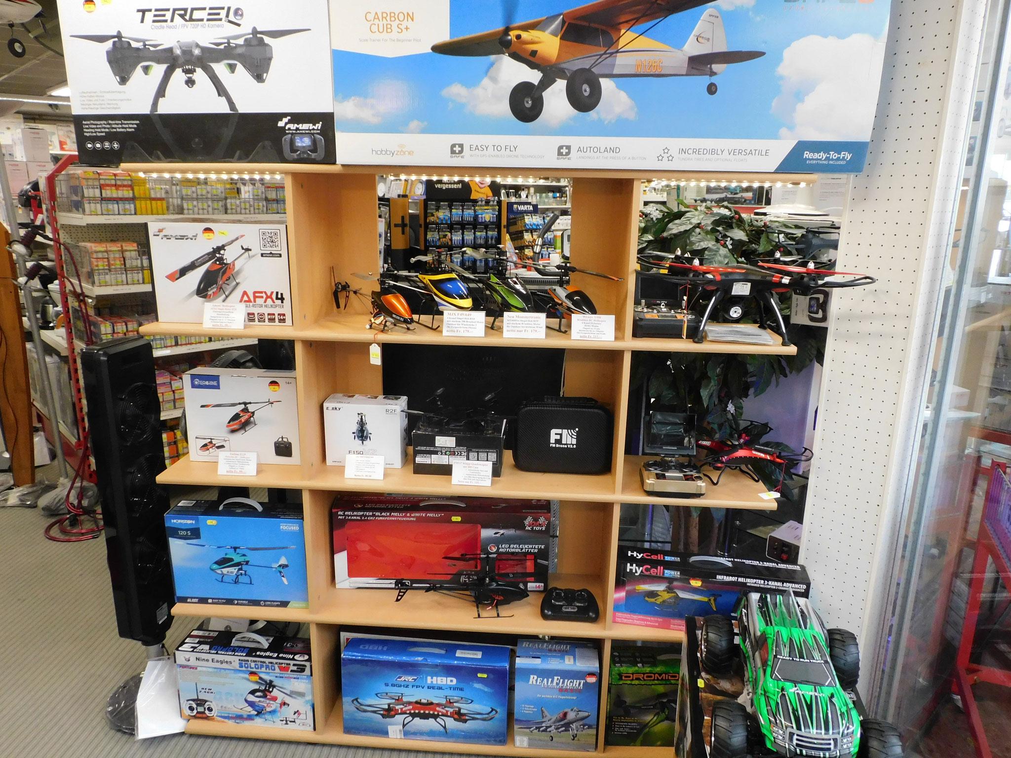 RC - Modellbau Drohnen und Helikopter
