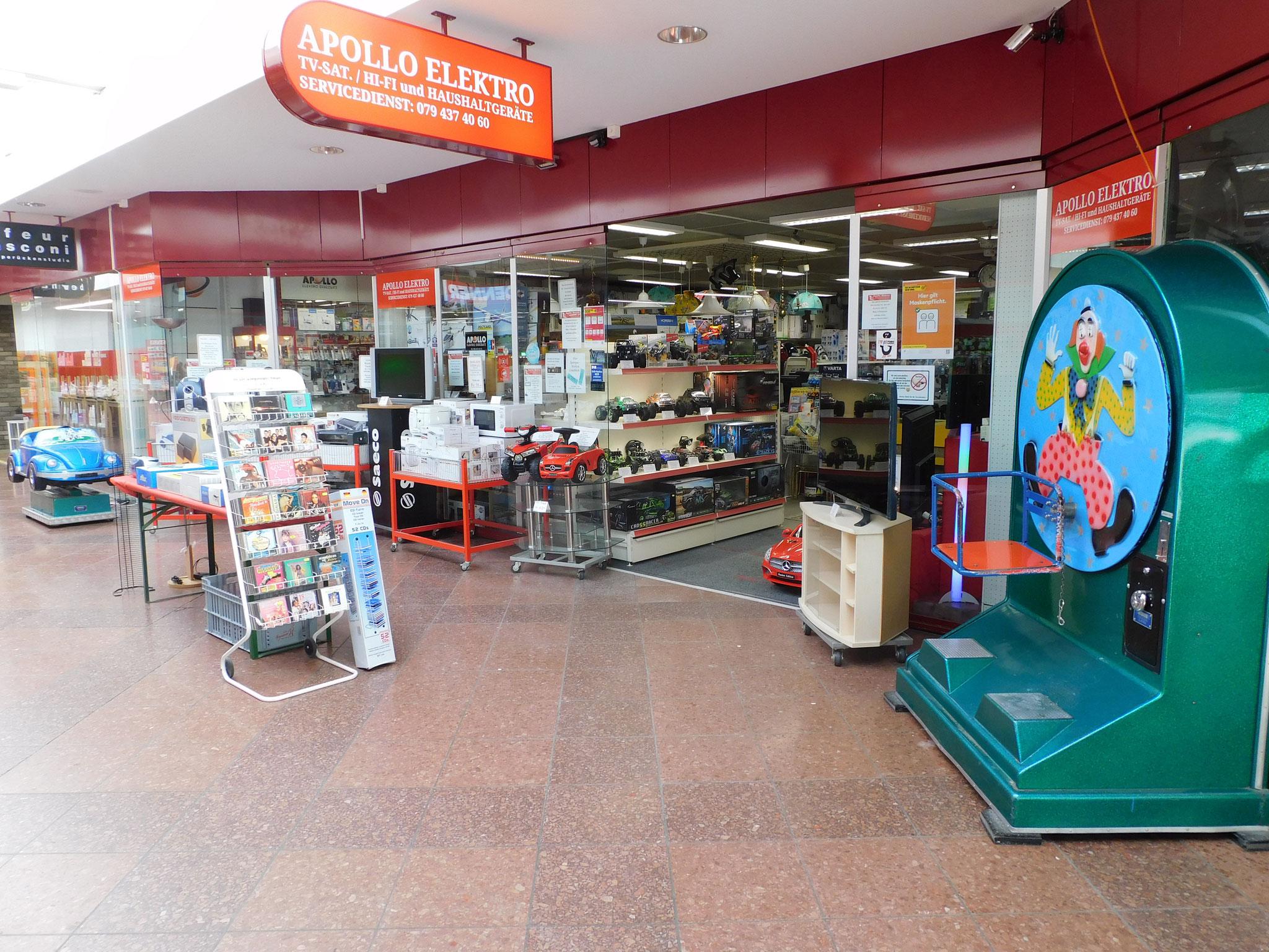 Eingang zum Laden