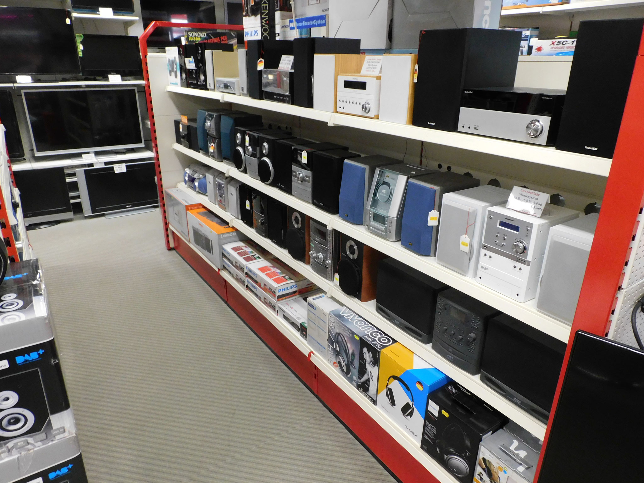 Hi-Fi Stereo-Anlagen in unserer Ausstellung