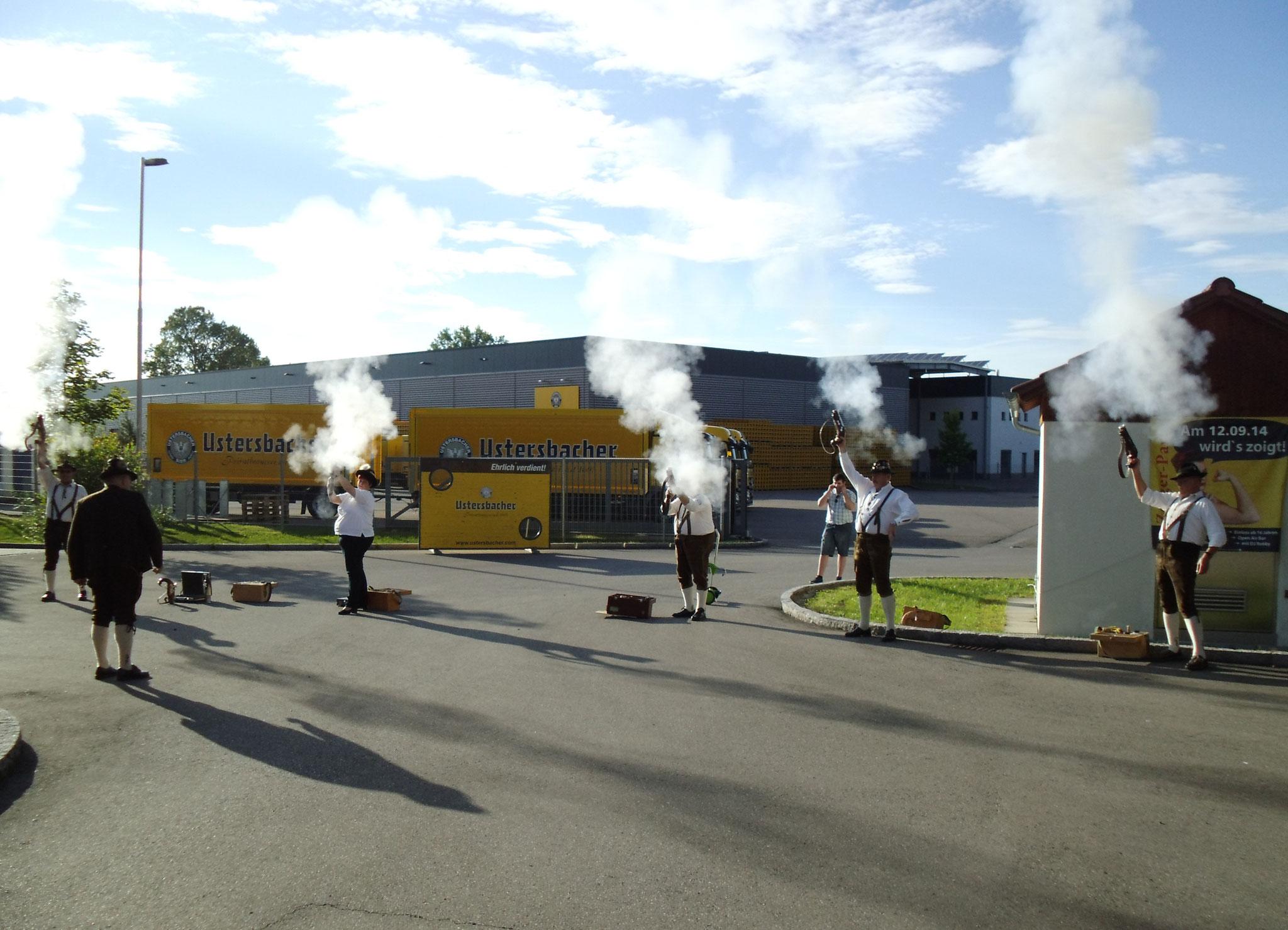 Eröffnung des Ustersbacher-Bierfestival´s   08.08.2014