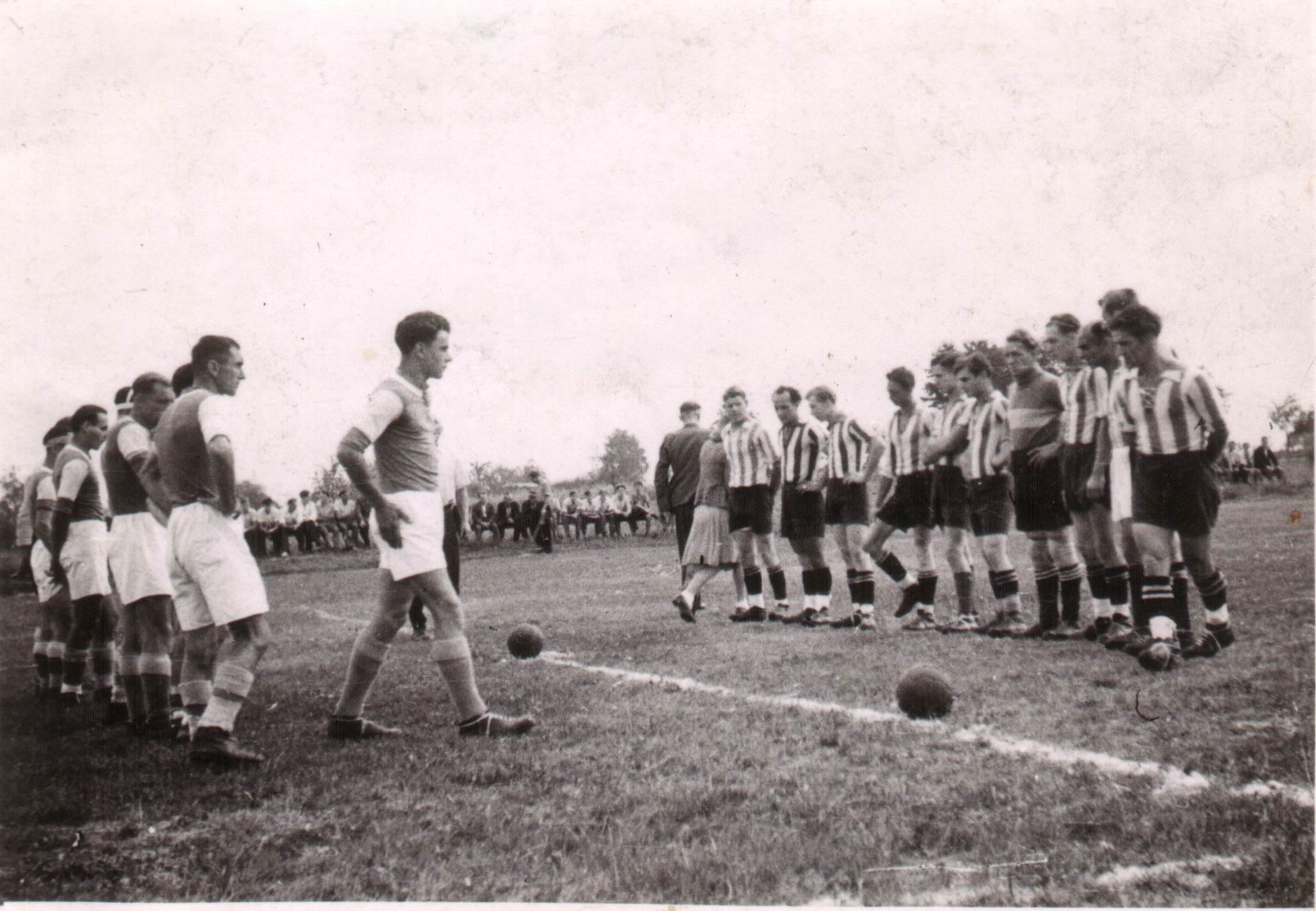 Sportfest 1948 -  Spiel gegen   Kehl