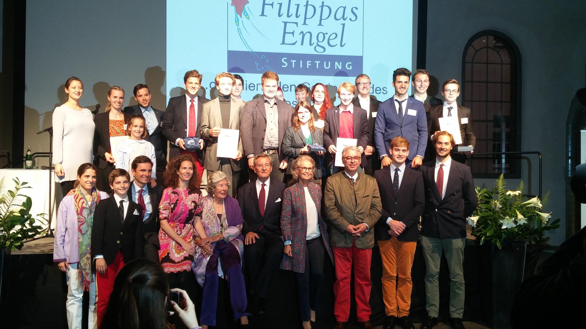 Gruppenbild aller Preisträger 2017