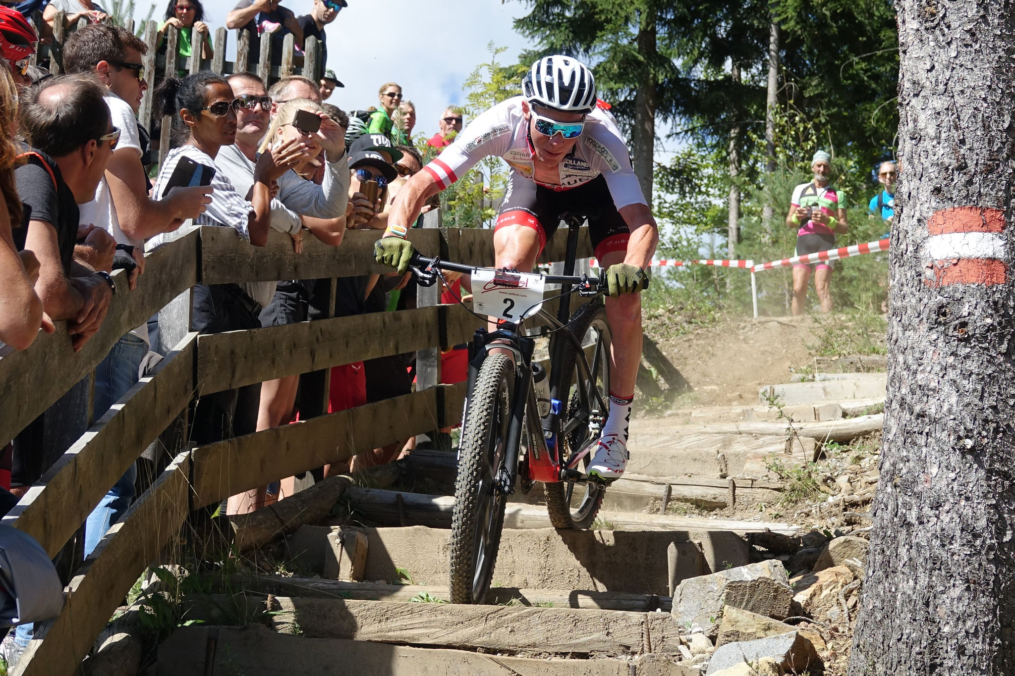 Tagessieger Daniel Geismayr auf dem Weg zur Bestzeit