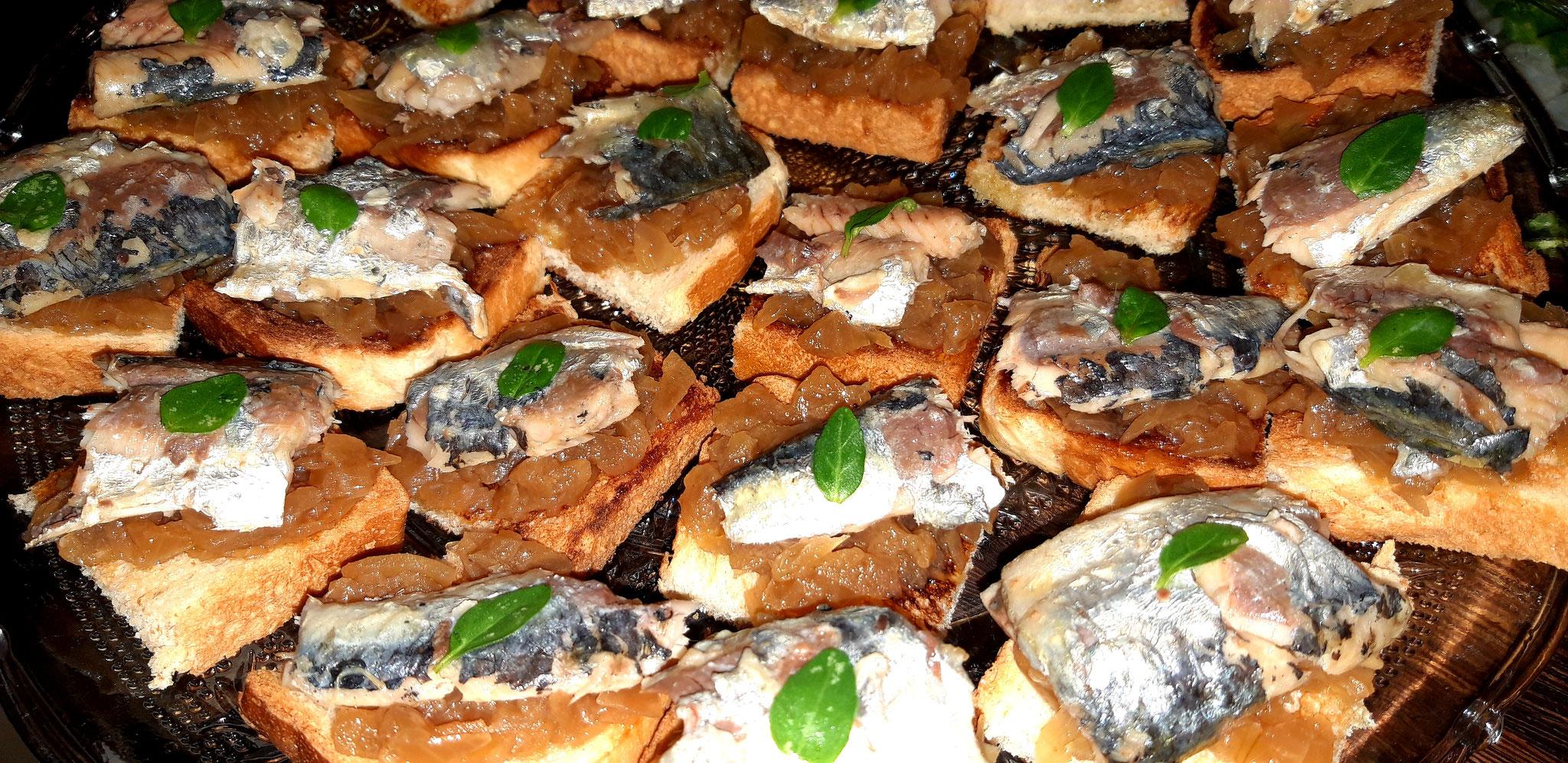 Toast Sardine