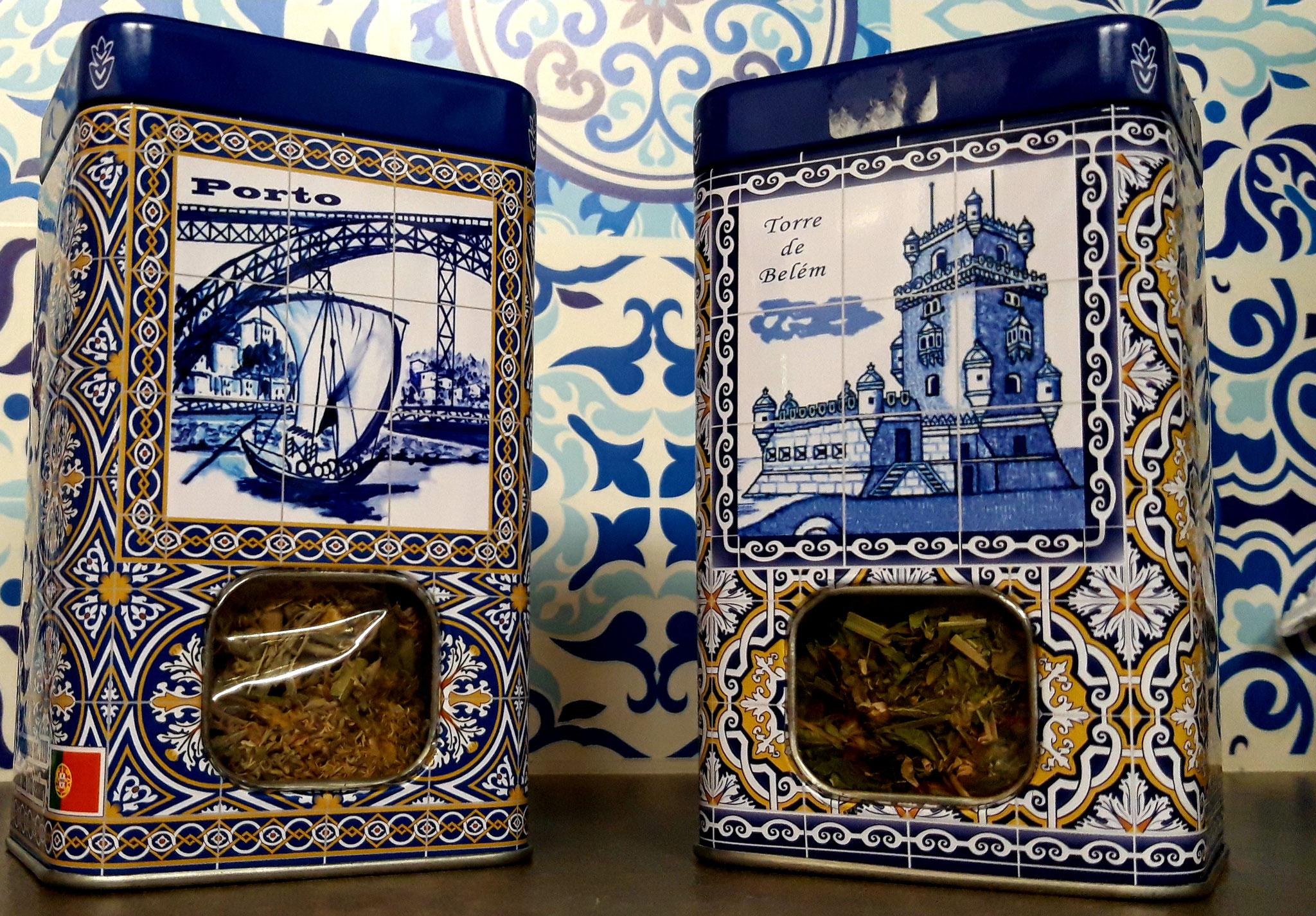 Boite Rectangulaire métal, thé en vrac environ 35 gr