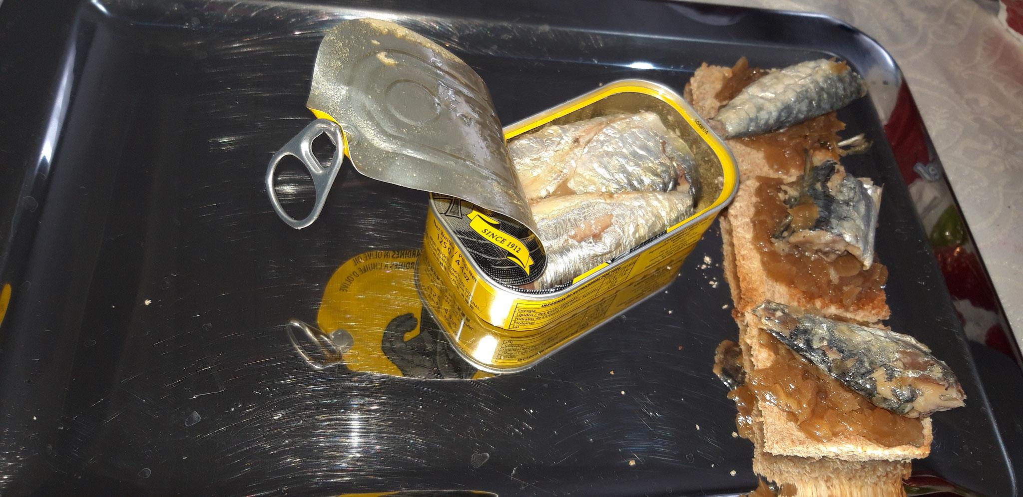 PORTHOS Sardines Huile d'Olive