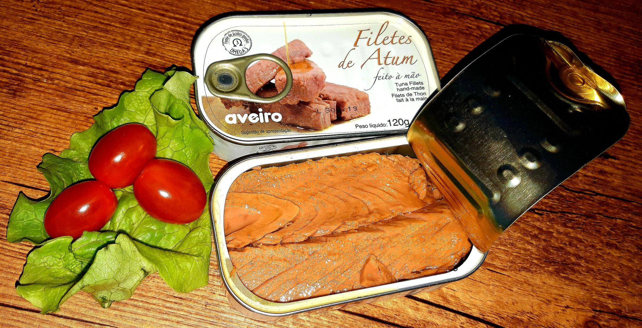 Filets de Thon à l'Huile d'Olive