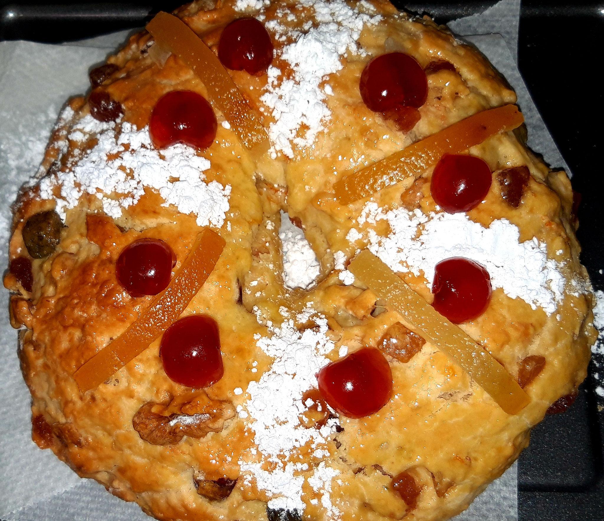 Bolo Rei - Gâteau des Rois (fait maison)