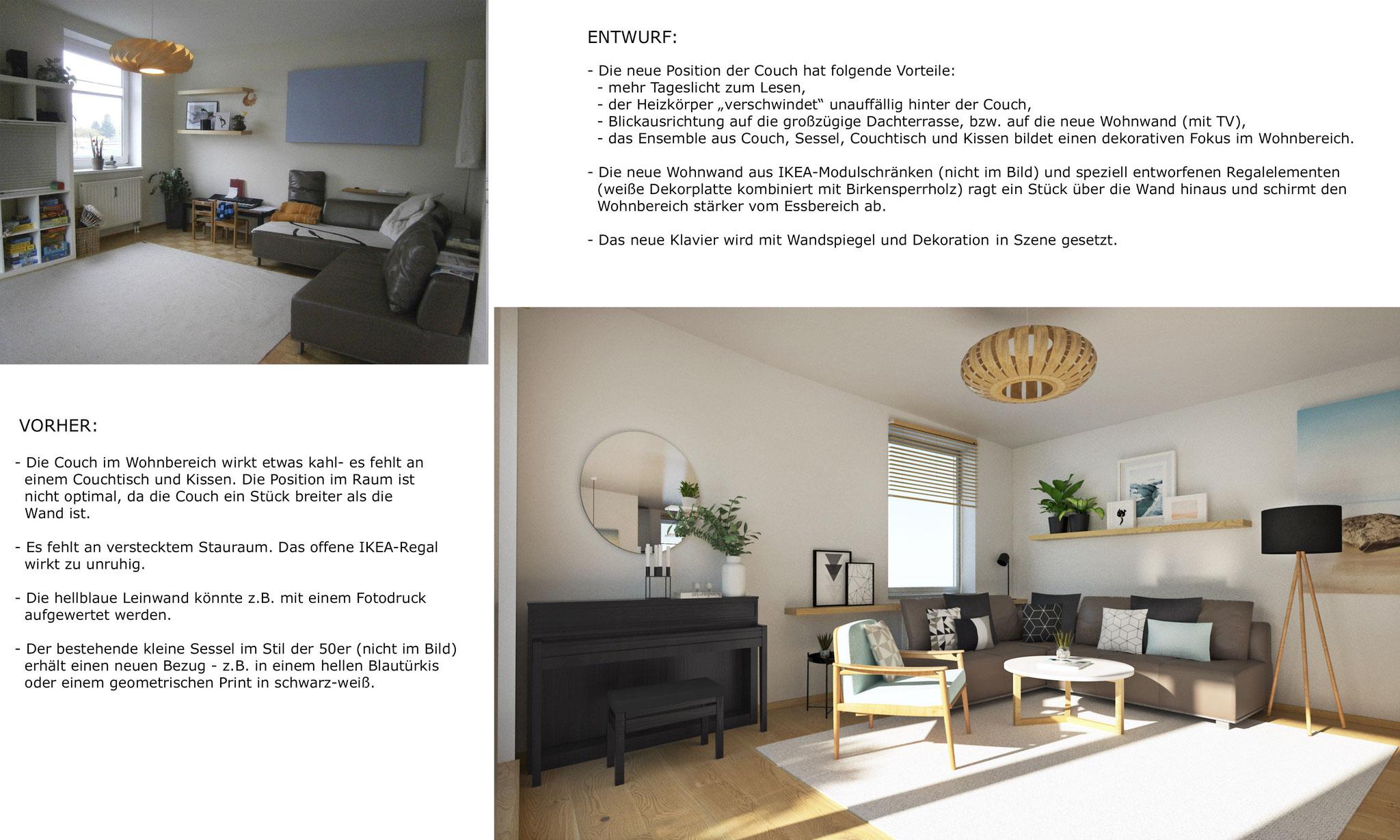 Entwurfsbeschreibung - Wohnbereich