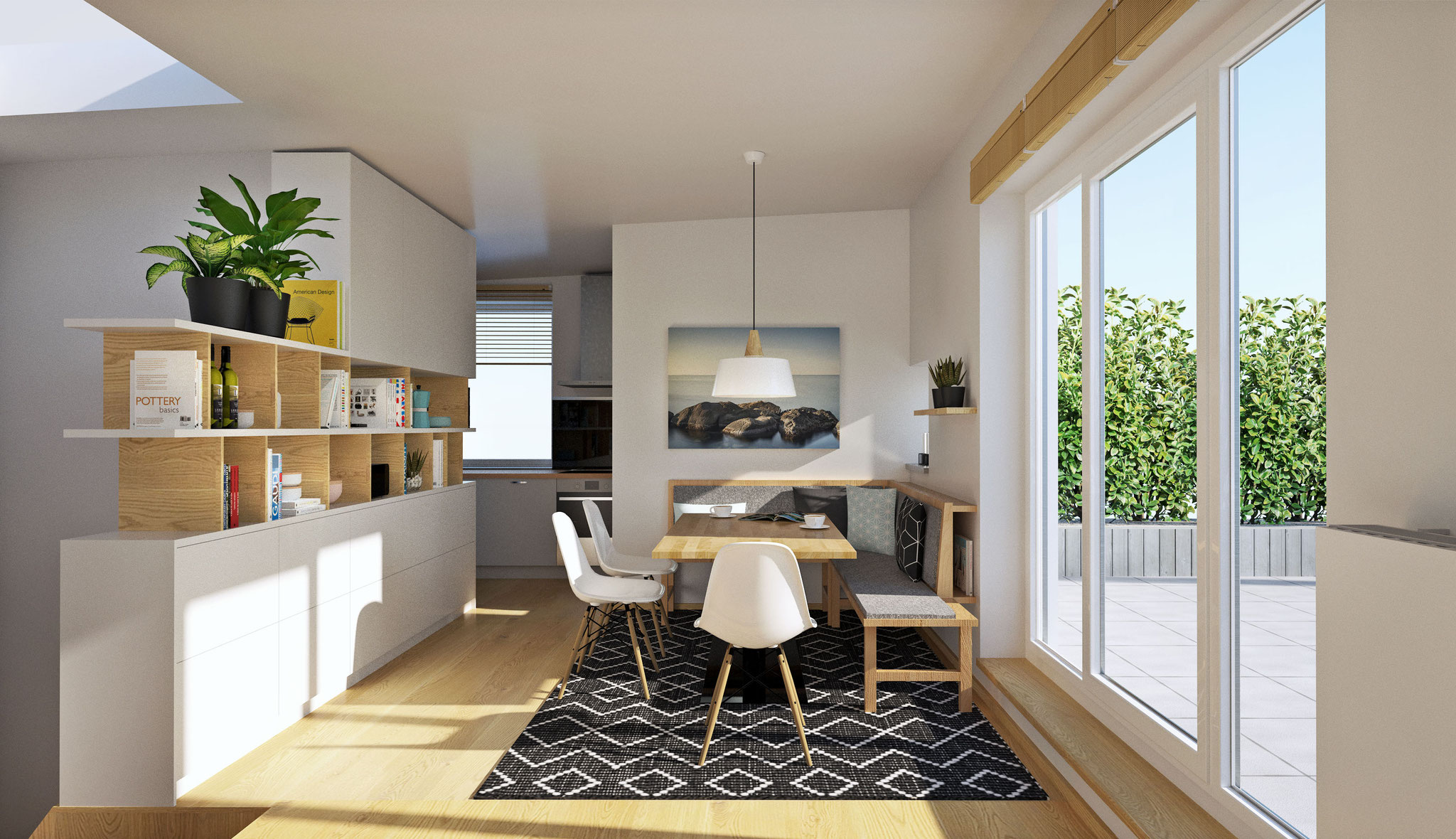 Wohnung K | Graz-Andritz  Essbereich