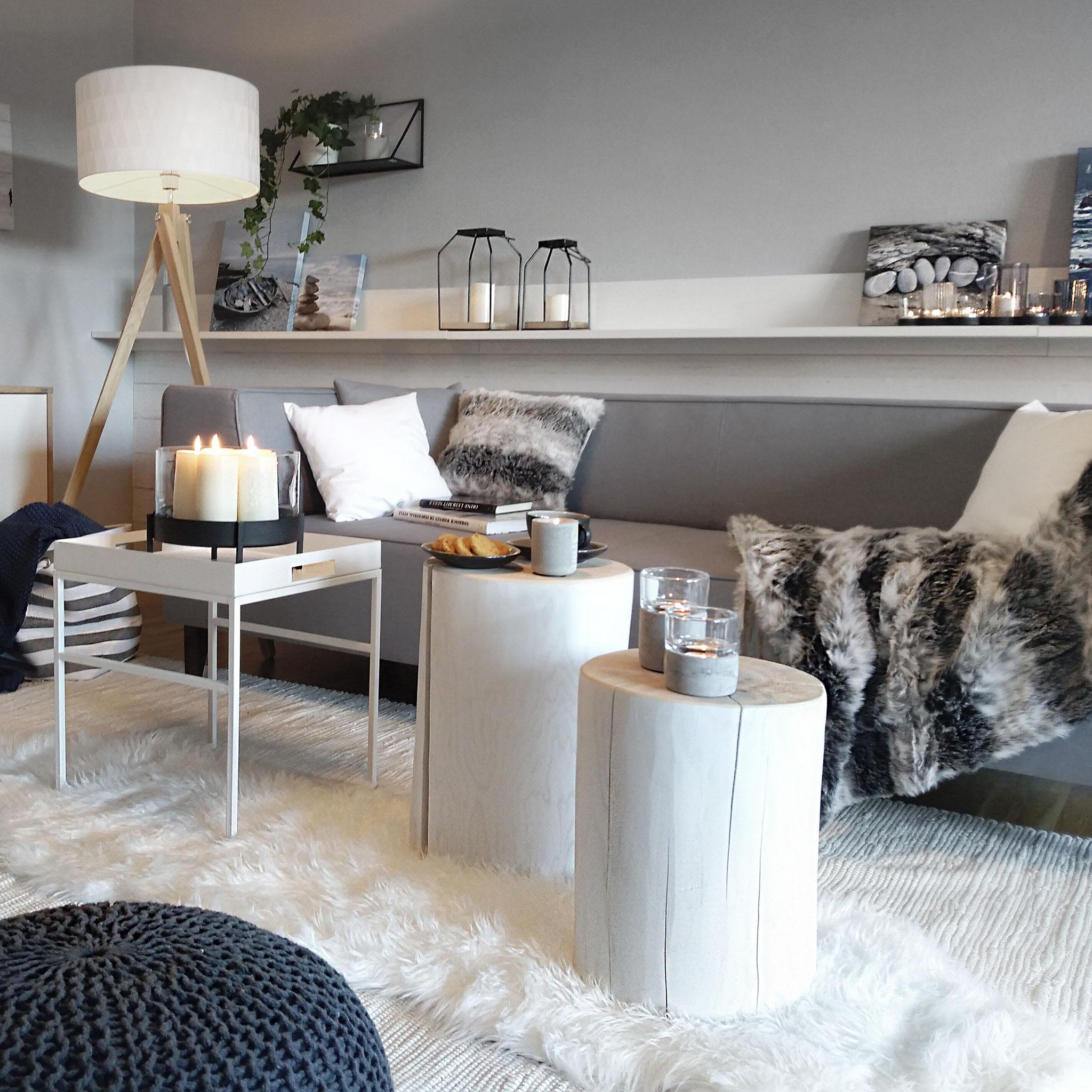 STIL NORDIC NATURAL: Nordische Klarheit und Frische, natürliche Materialien und eine ruhige, reduzierte Farbpalette – dieser Stil wirkt wie eine kleine Auszeit von der hektischen Außenwelt.