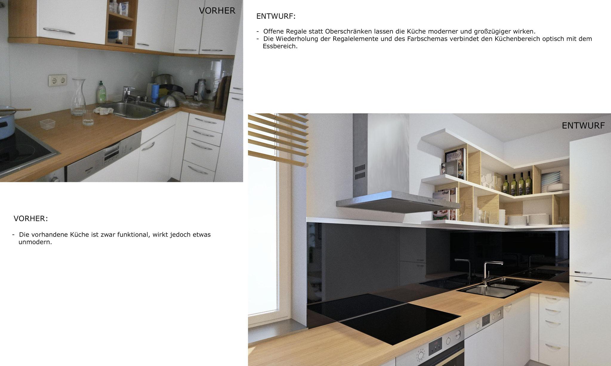 Entwurfsbeschreibung - Küche