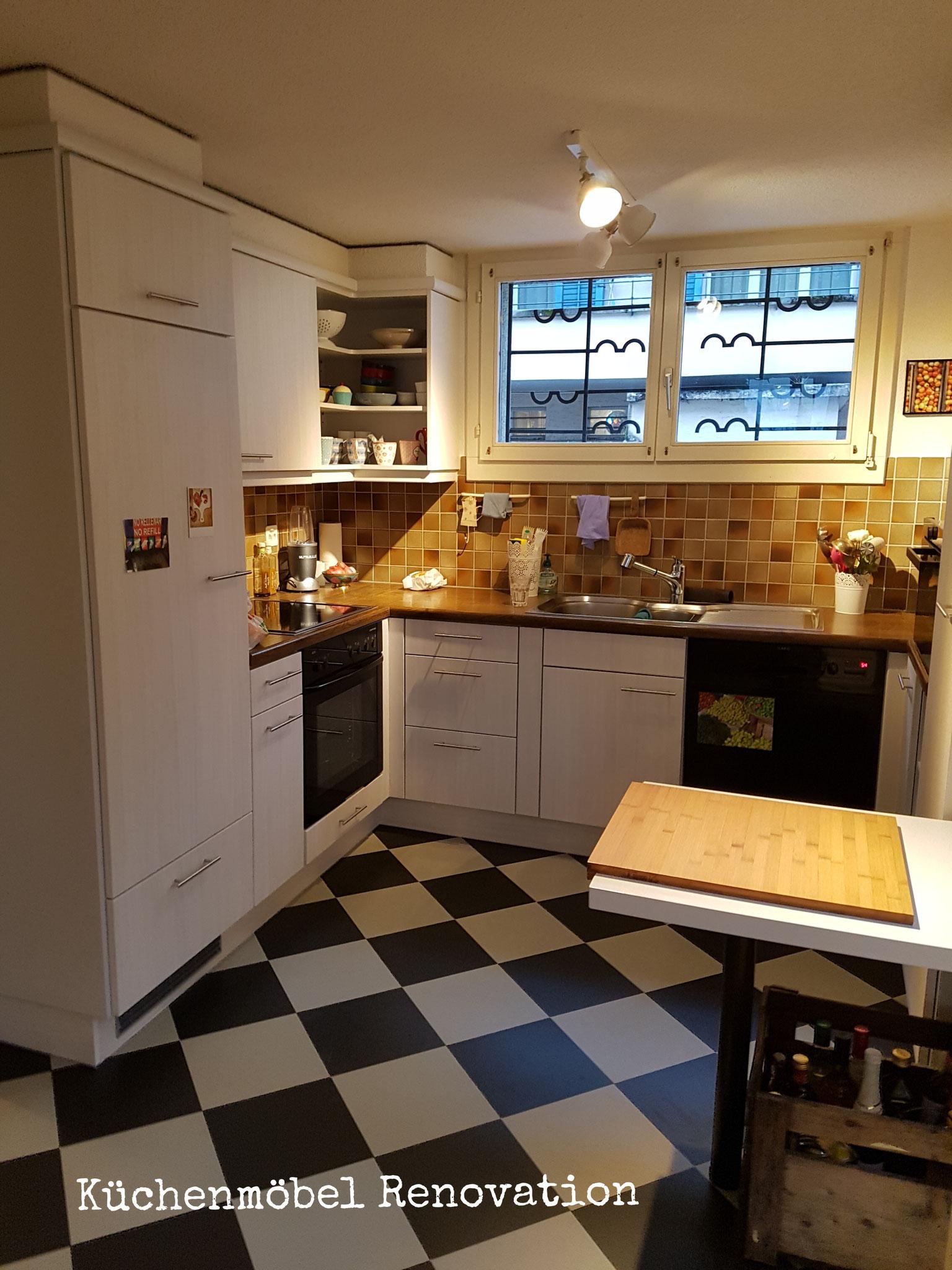 Küchenschränke lackieren
