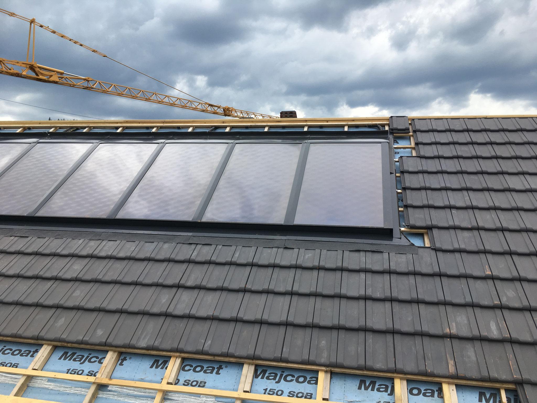 Thermische Aluminiumrahmen Solarkollektor  AF24UE4