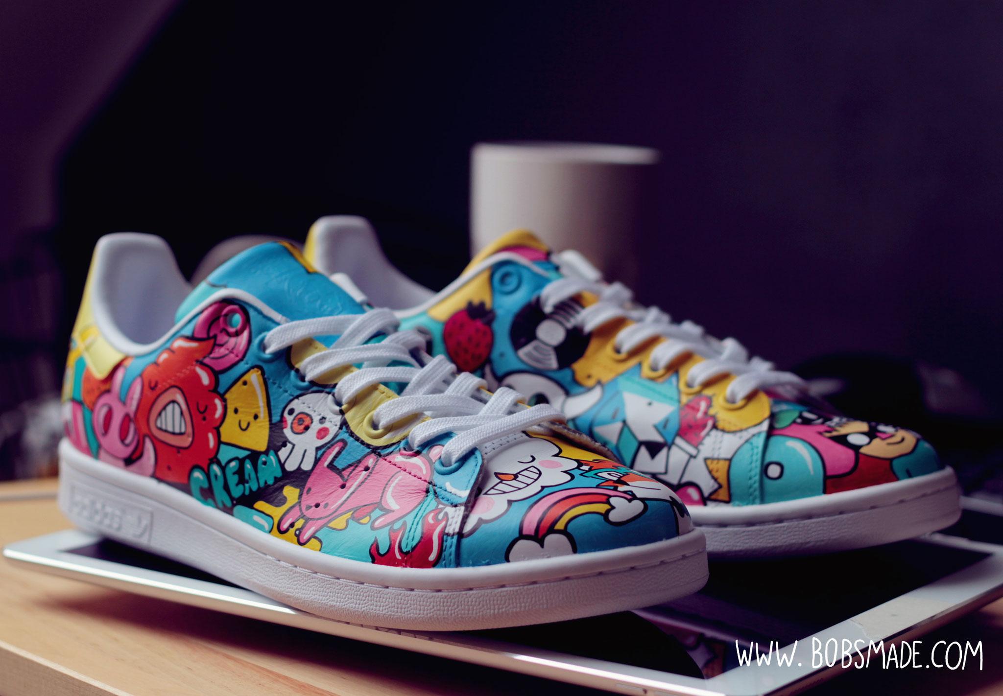 buy popular ebbb5 39c75 Doodle Stan Smith - Art & Custom Design