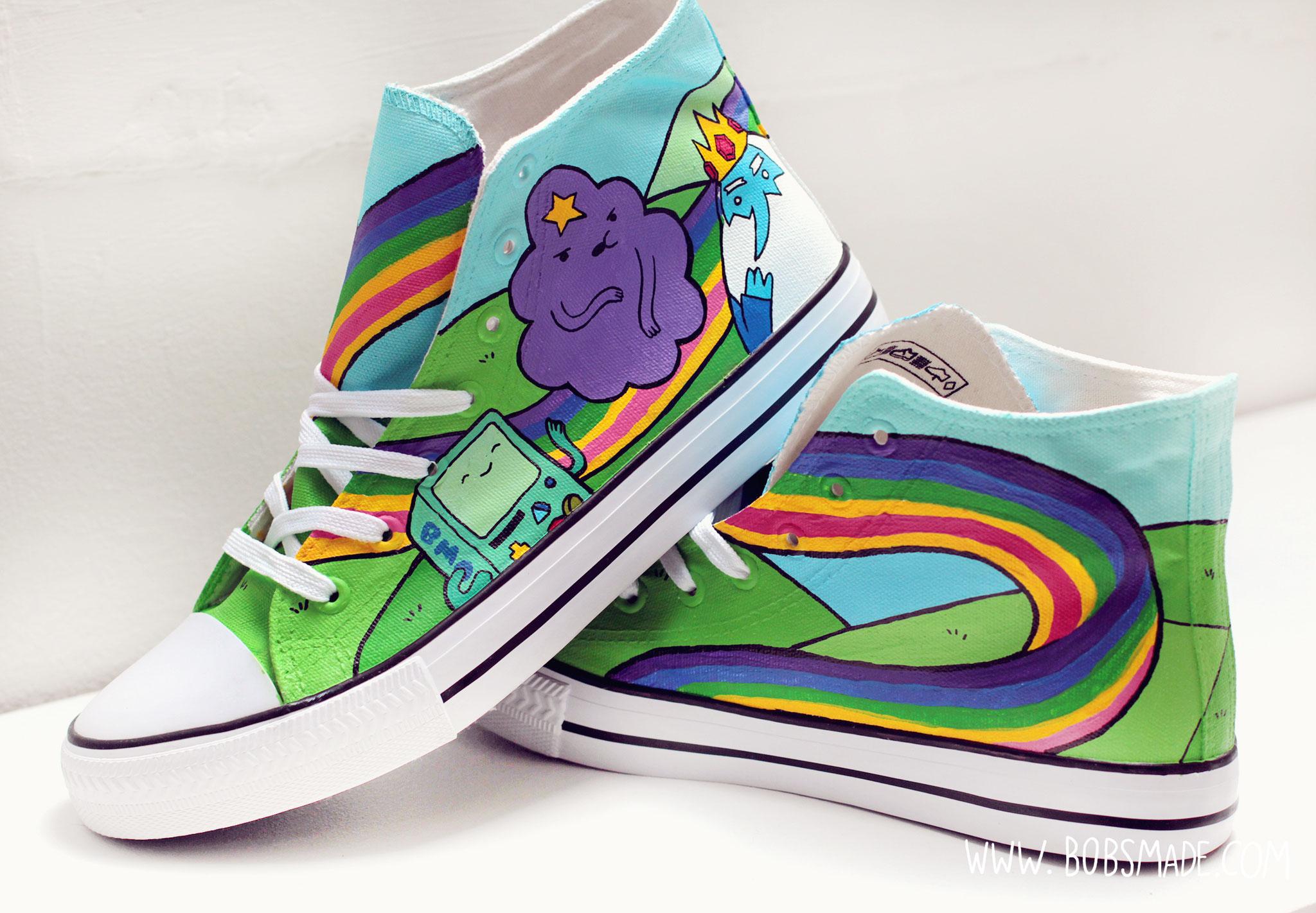 52c867833c Adventure Time Shoes - Art   Custom Design