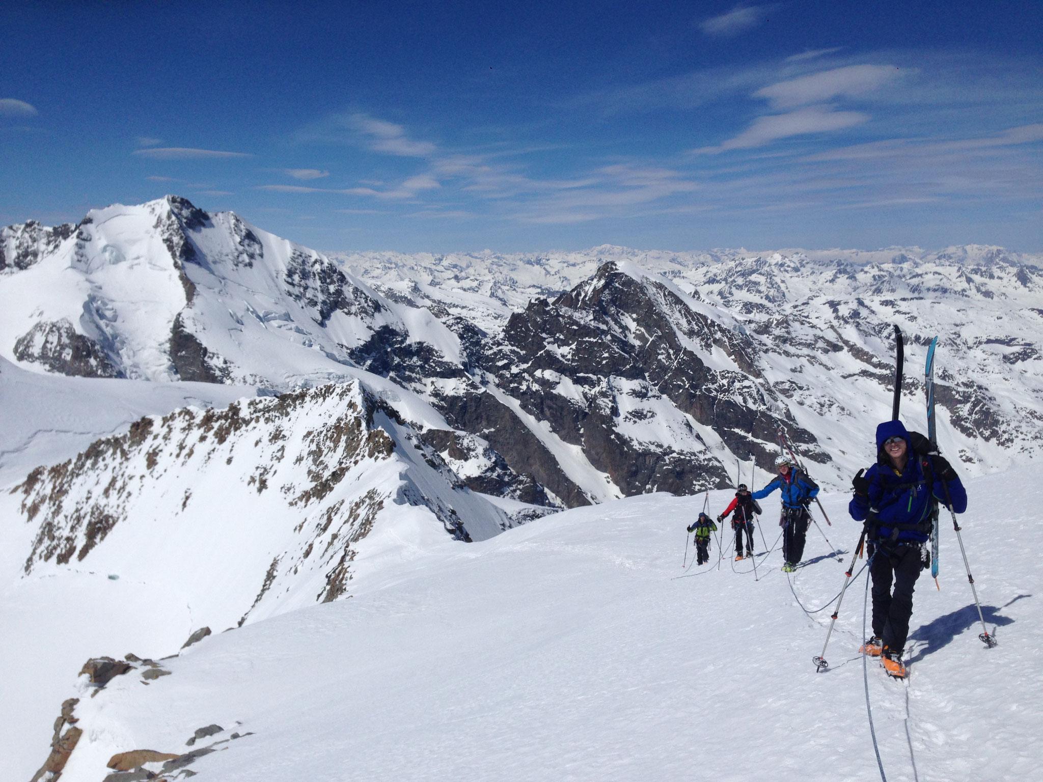 Ski Durchquerung in der Berninagruppe - Schweiz