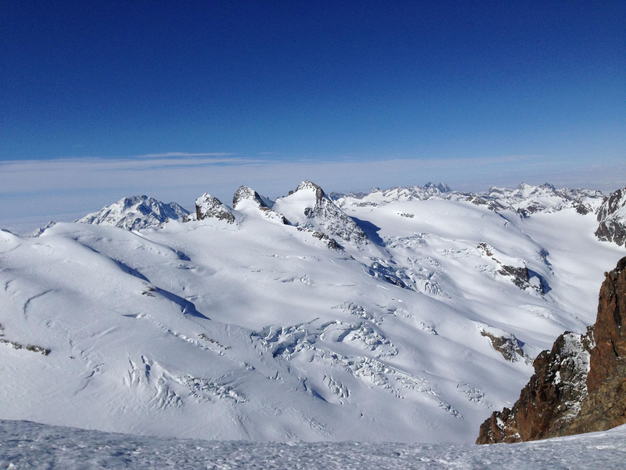 Wunderschöne Gletscherlandschaft