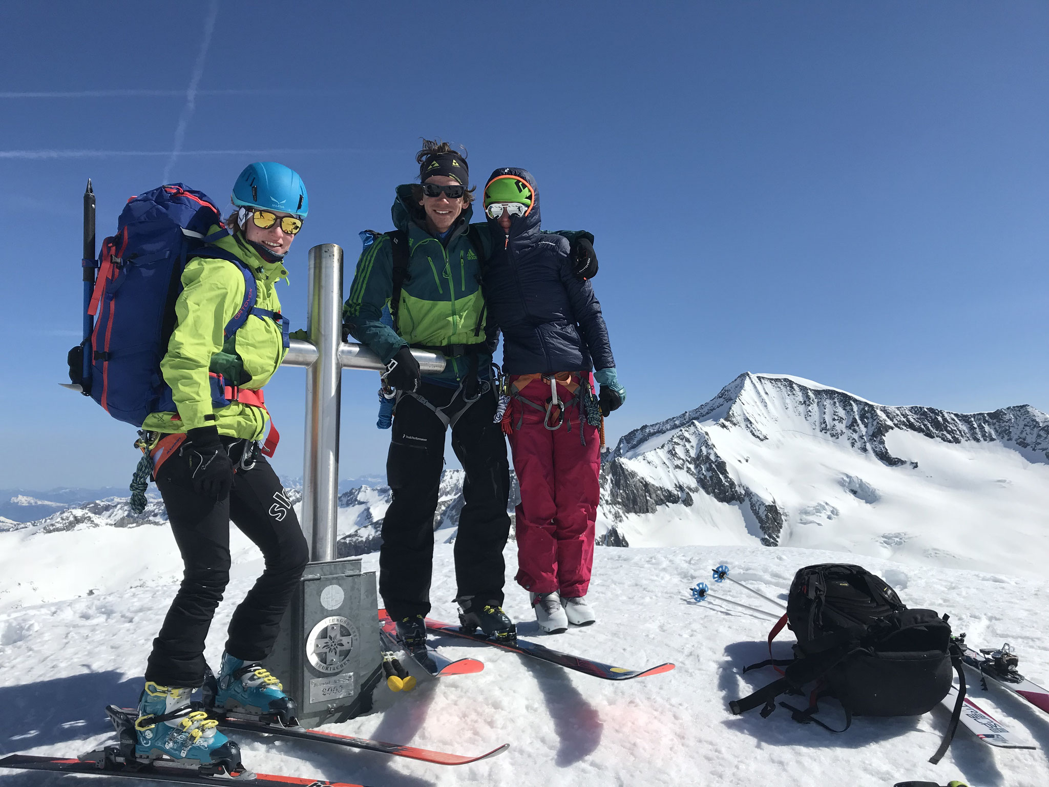 Gipfelglück am Großen Geiger - Venedigergruppe