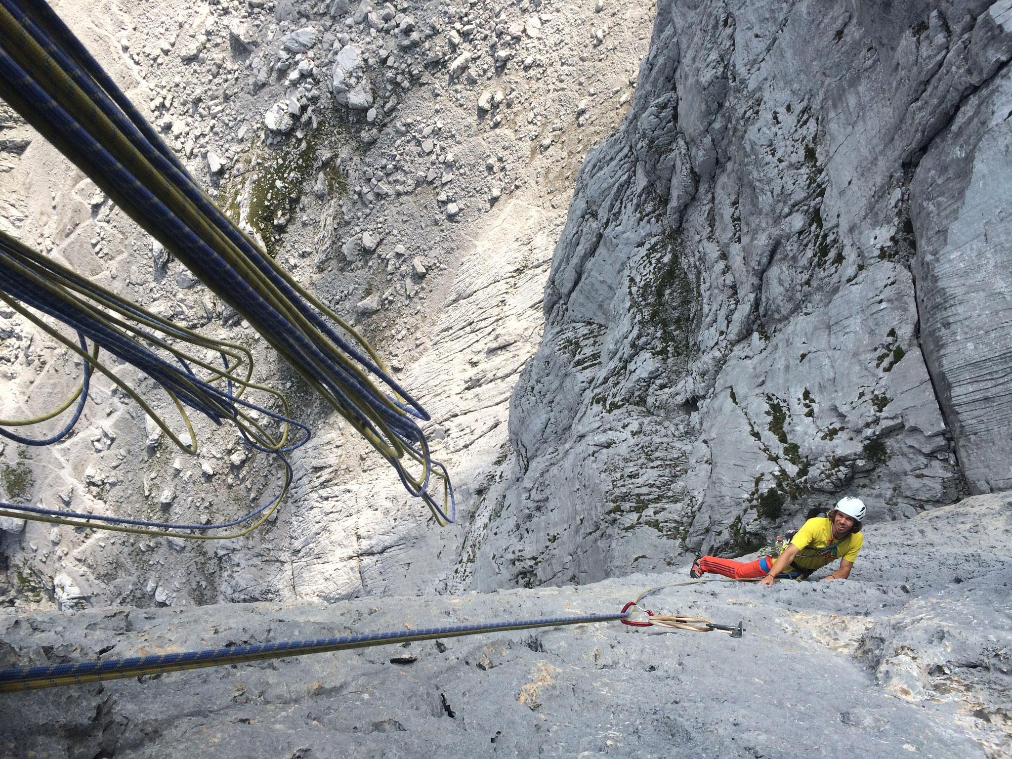 Ausgesetzt und steil - Klettern im WIlden Kaiser